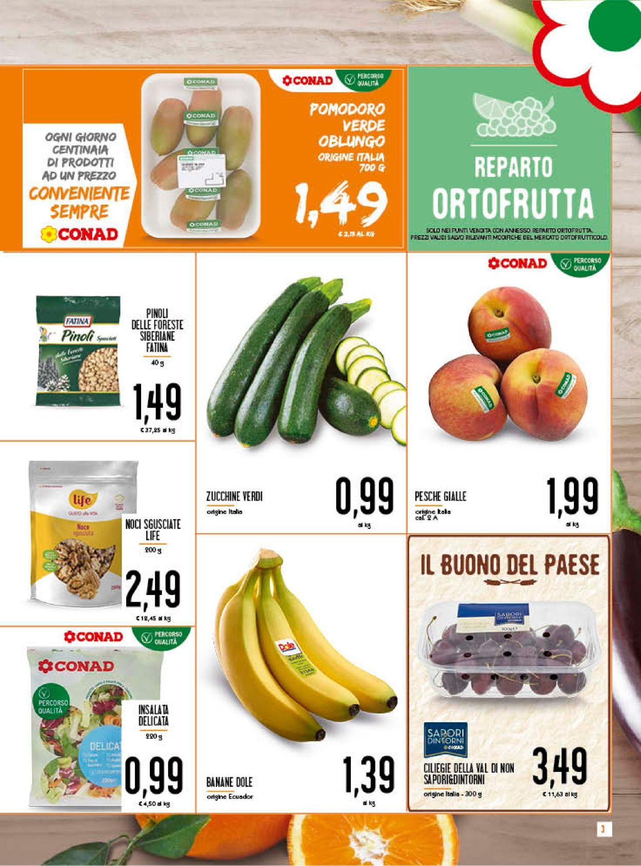 Volantino Conad - Offerte 08/07-19/07/2020 (Pagina 3)