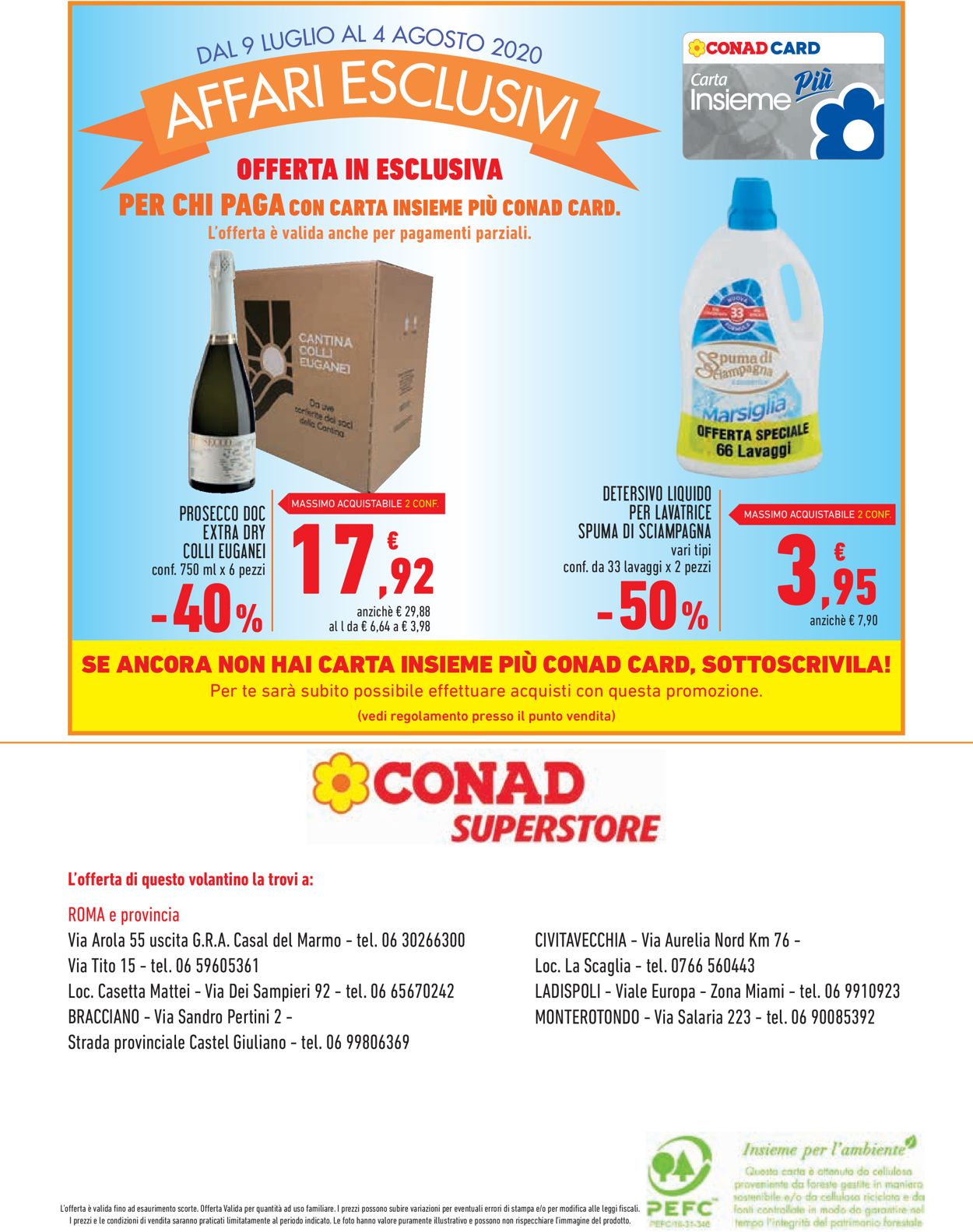 Volantino Conad - Offerte 09/07-04/08/2020 (Pagina 16)