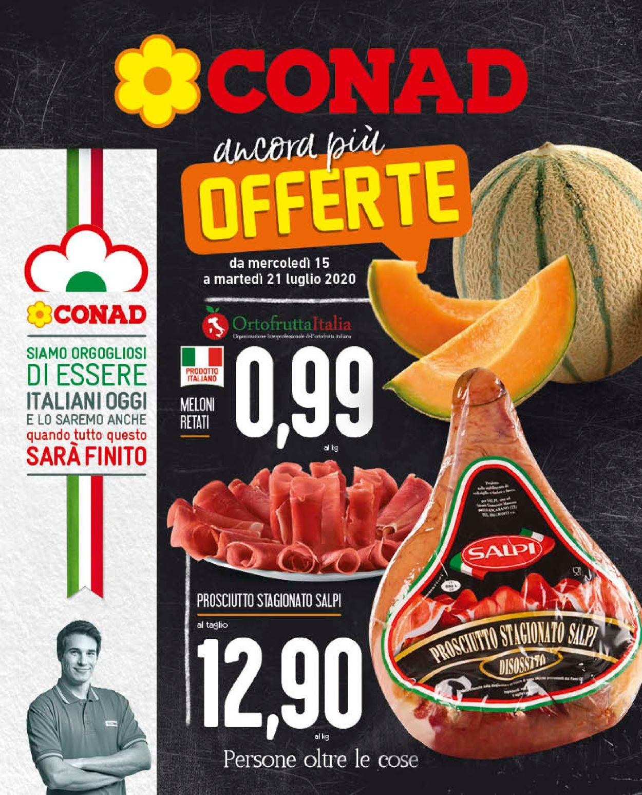 Volantino Conad - Offerte 15/07-23/07/2020