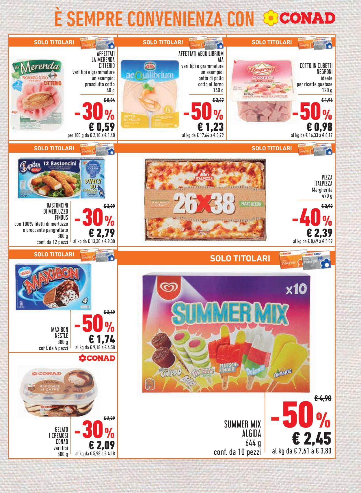 Volantino Conad - Offerte 23/07-05/08/2020 (Pagina 11)