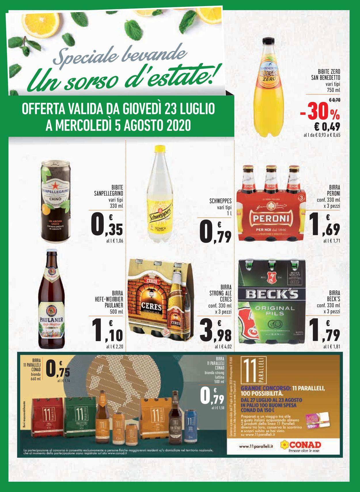 Volantino Conad - Offerte 23/07-05/08/2020 (Pagina 15)