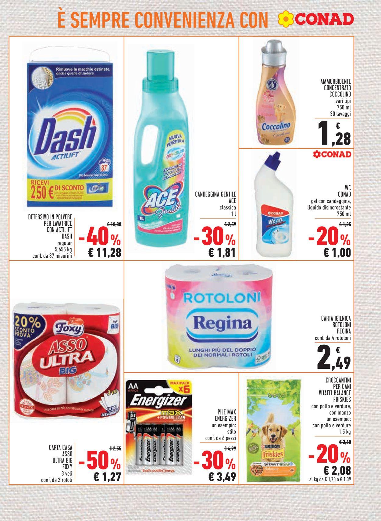 Volantino Conad - Offerte 23/07-05/08/2020 (Pagina 17)