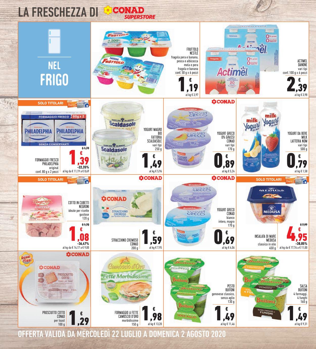 Volantino Conad - Offerte 22/07-02/08/2020 (Pagina 24)