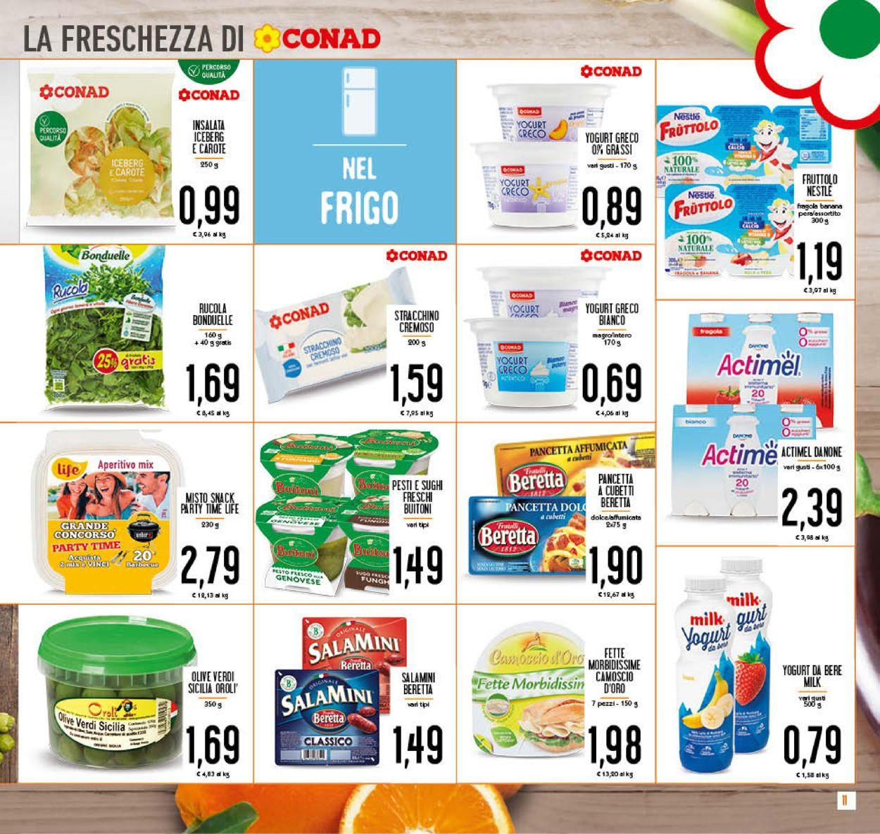 Volantino Conad - Offerte 22/07-02/08/2020 (Pagina 11)