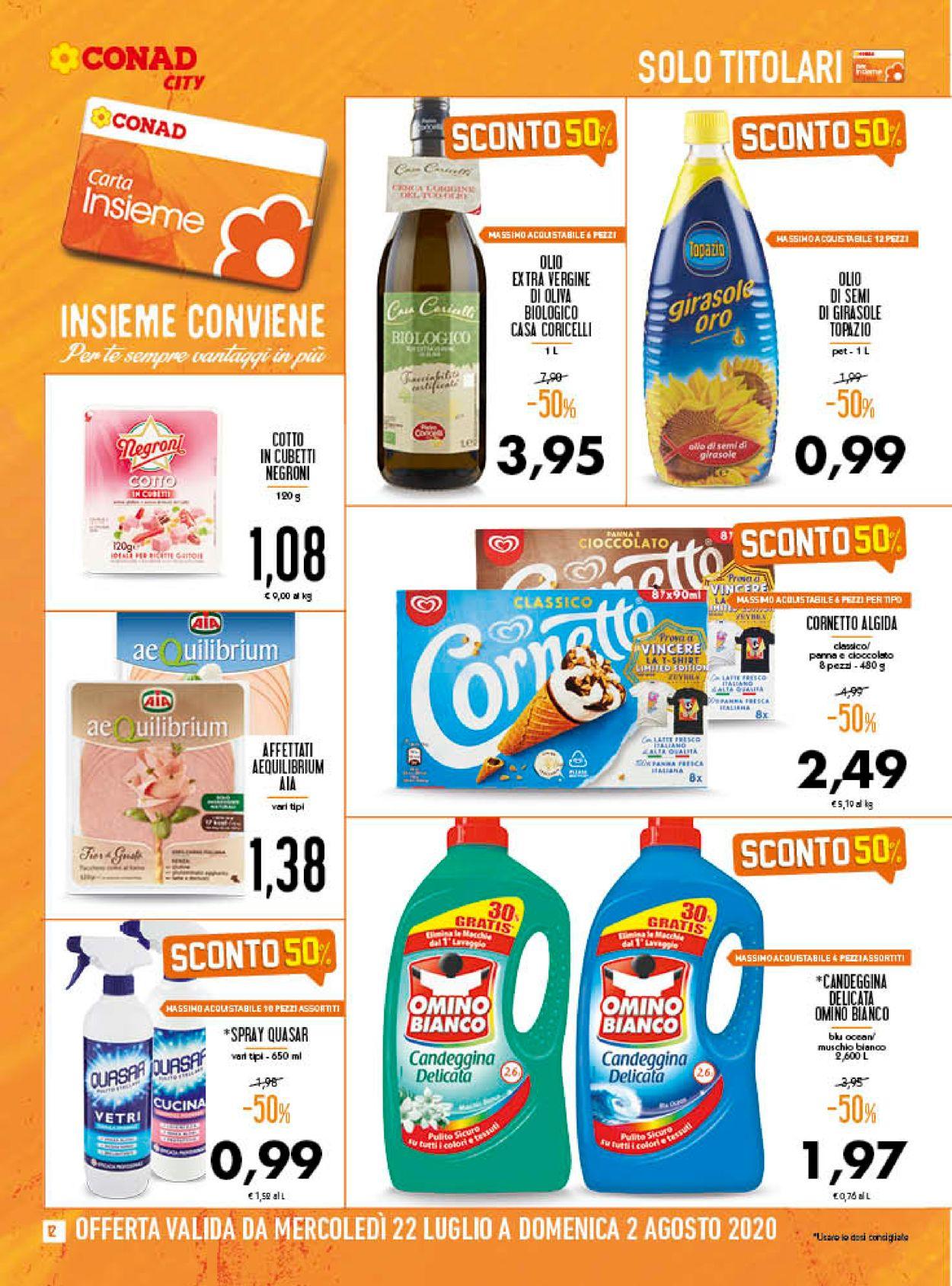 Volantino Conad - Offerte 22/07-02/08/2020 (Pagina 12)