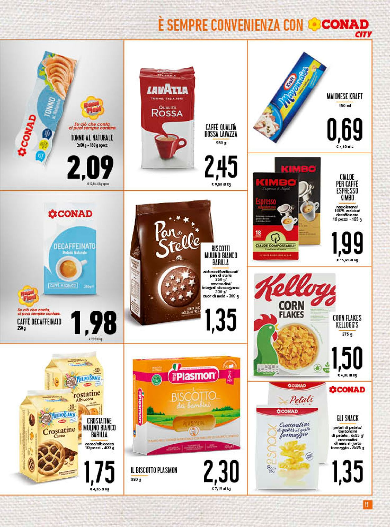 Volantino Conad - Offerte 22/07-02/08/2020 (Pagina 15)