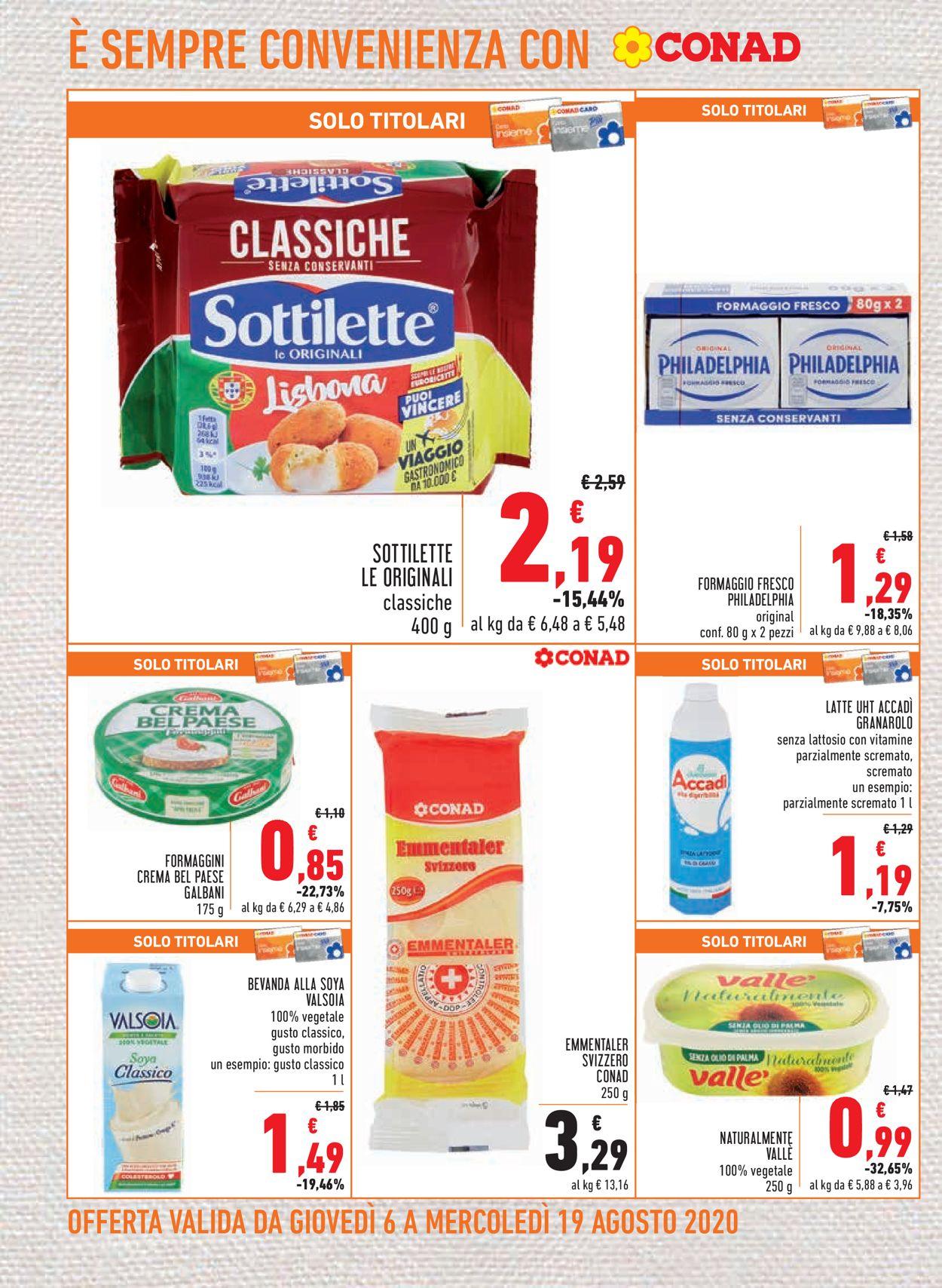 Volantino Conad - Offerte 06/08-19/08/2020 (Pagina 10)