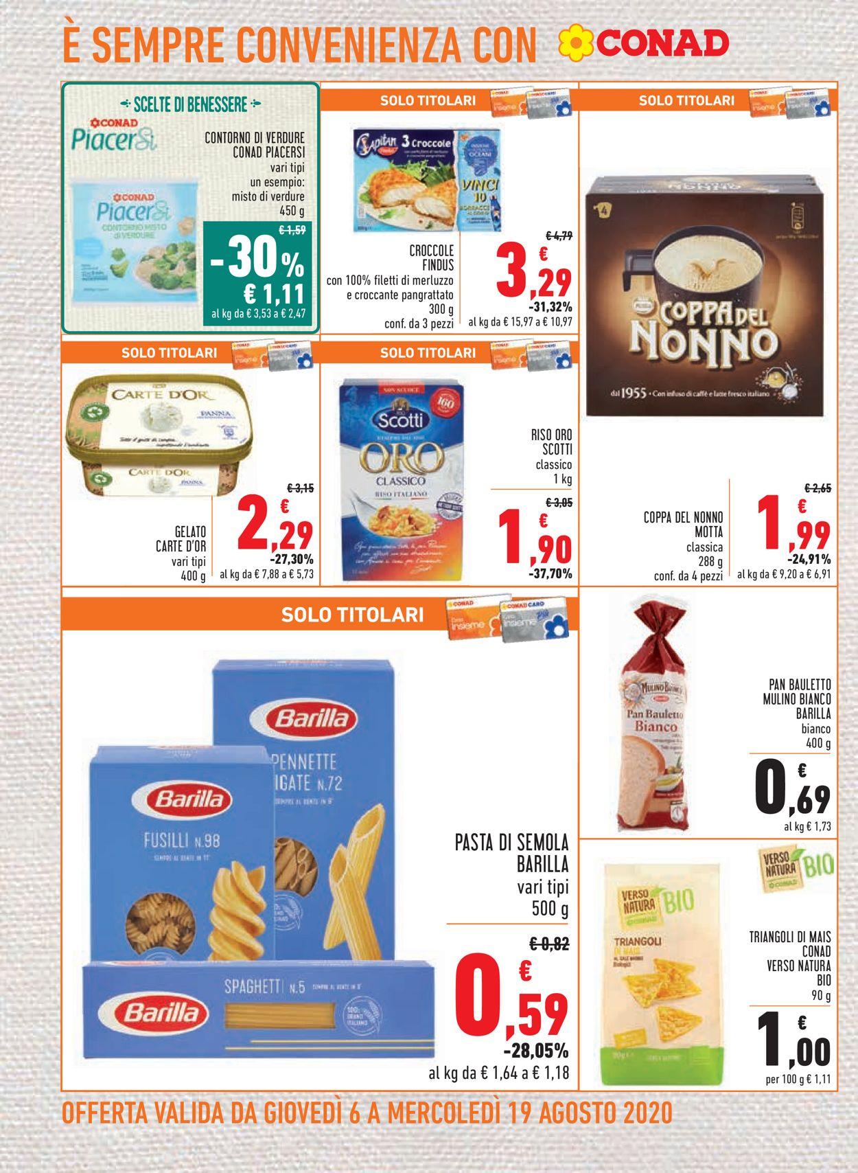 Volantino Conad - Offerte 06/08-19/08/2020 (Pagina 12)