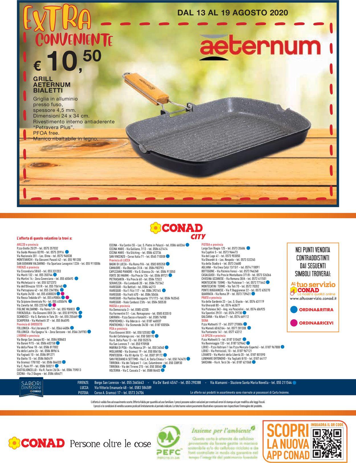 Volantino Conad - Offerte 06/08-19/08/2020 (Pagina 20)