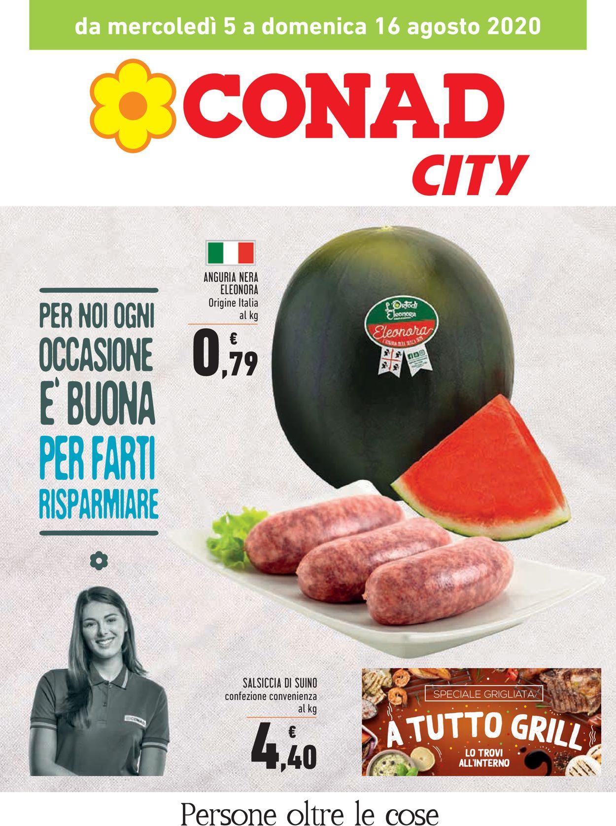 Volantino Conad - Offerte 05/08-16/08/2020