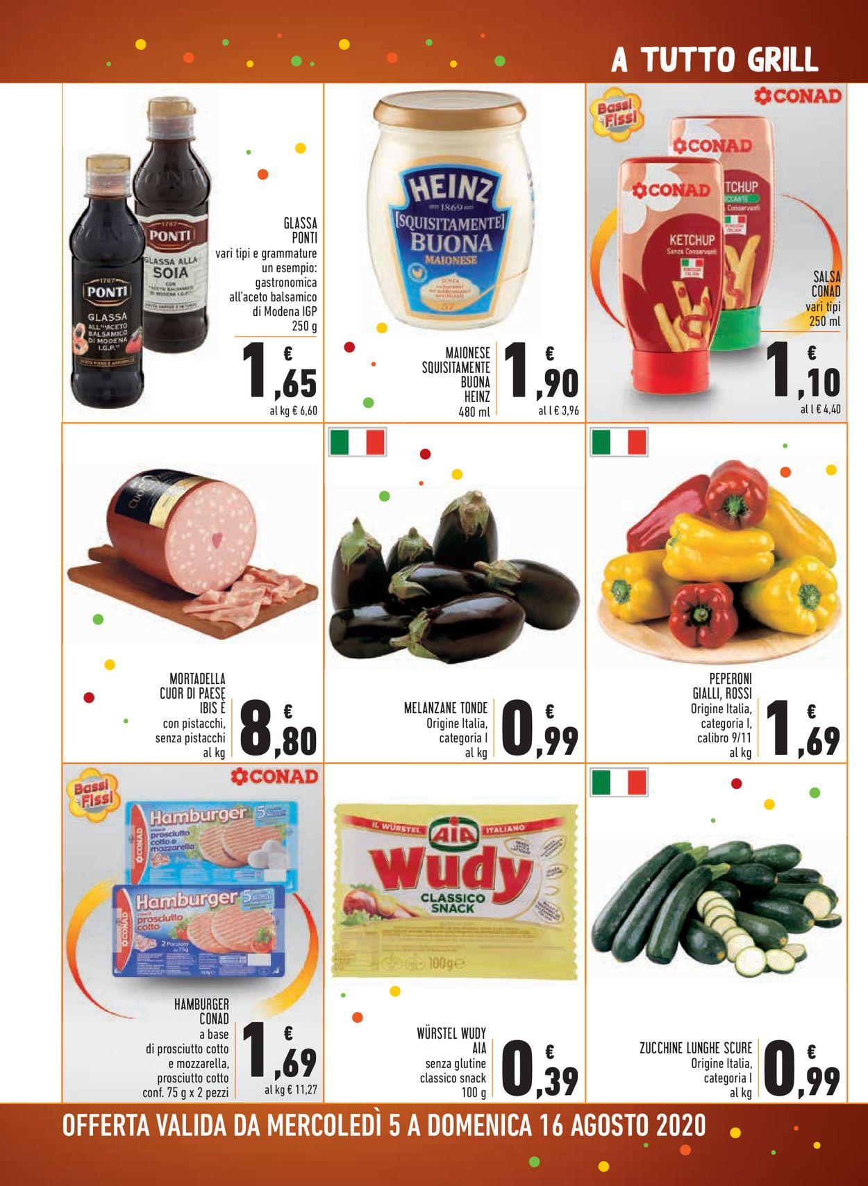 Volantino Conad - Offerte 05/08-16/08/2020 (Pagina 4)