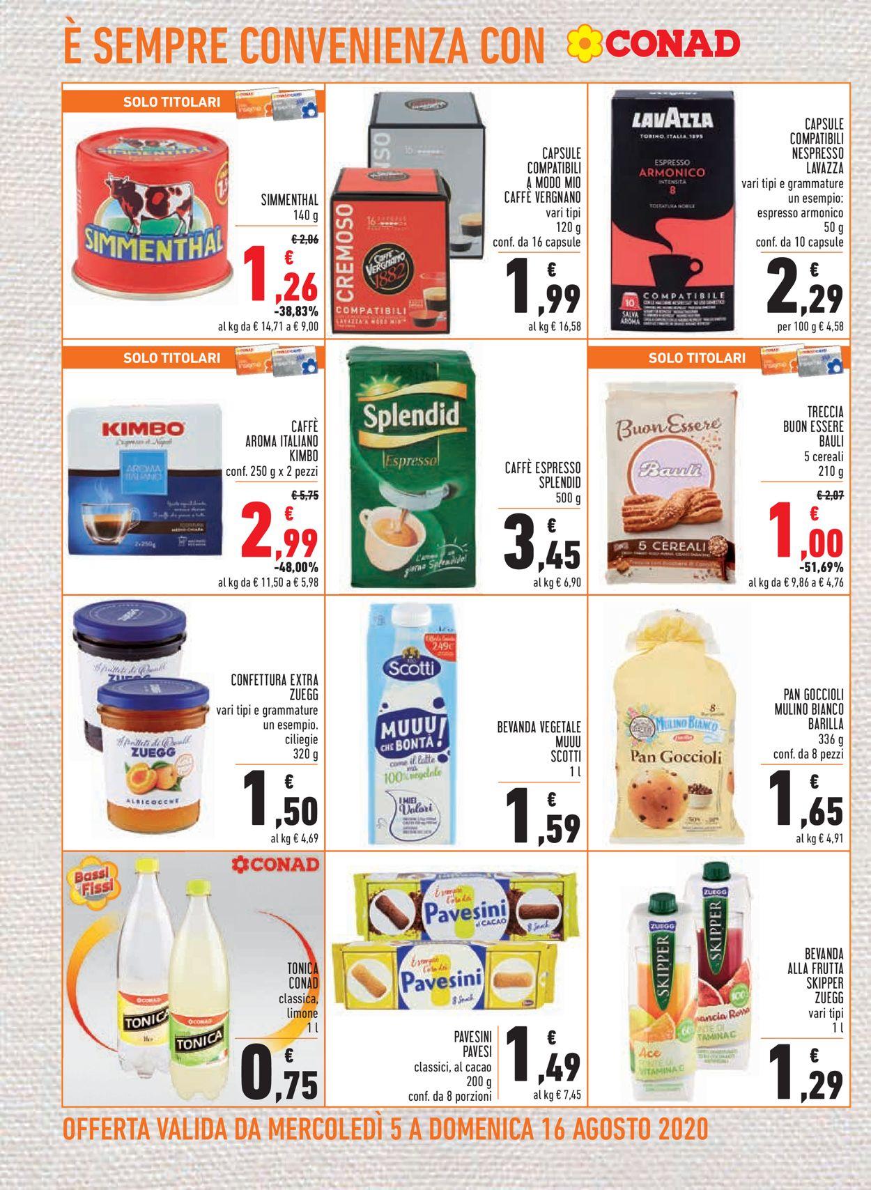 Volantino Conad - Offerte 05/08-16/08/2020 (Pagina 16)