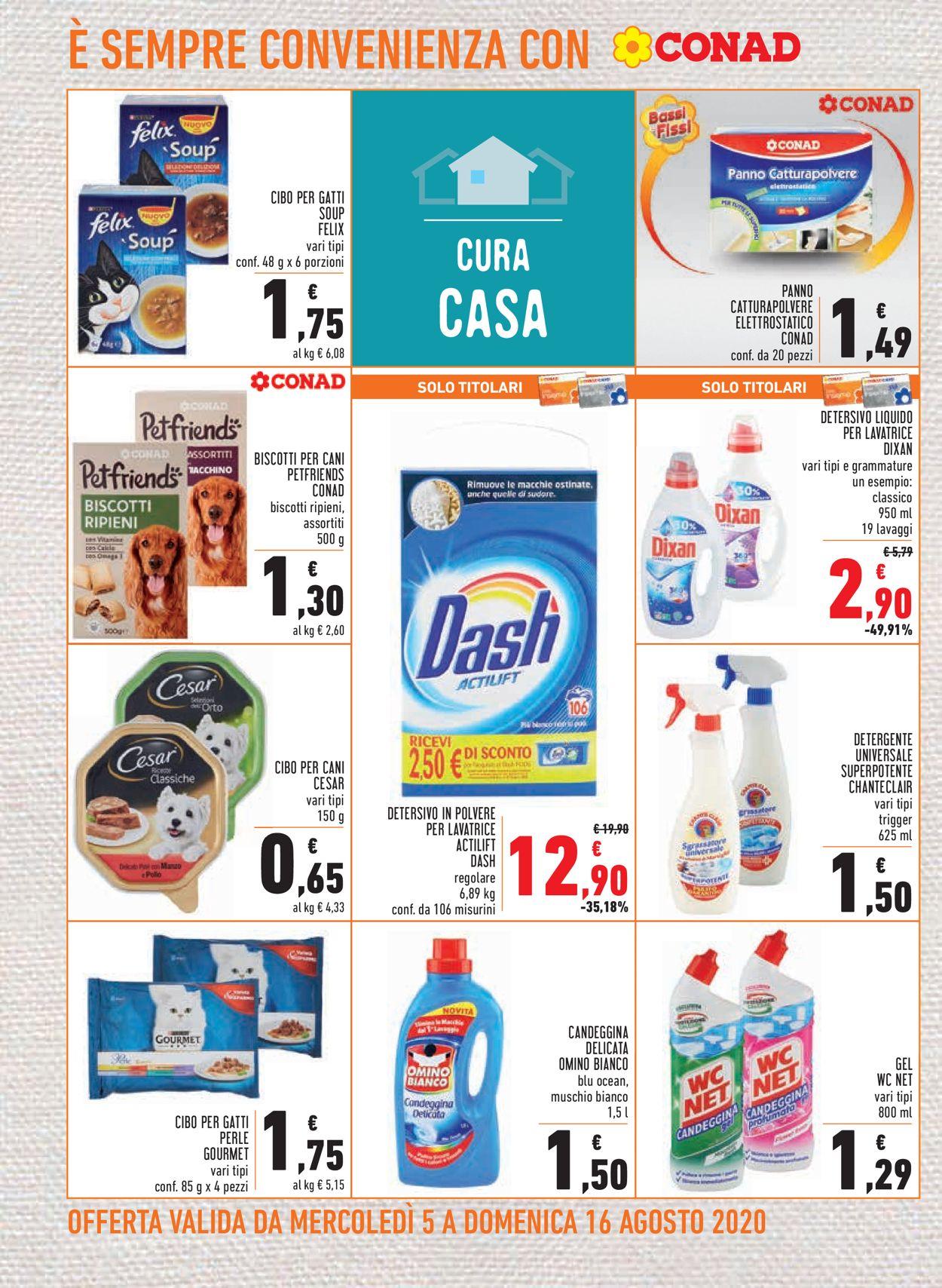 Volantino Conad - Offerte 05/08-16/08/2020 (Pagina 18)