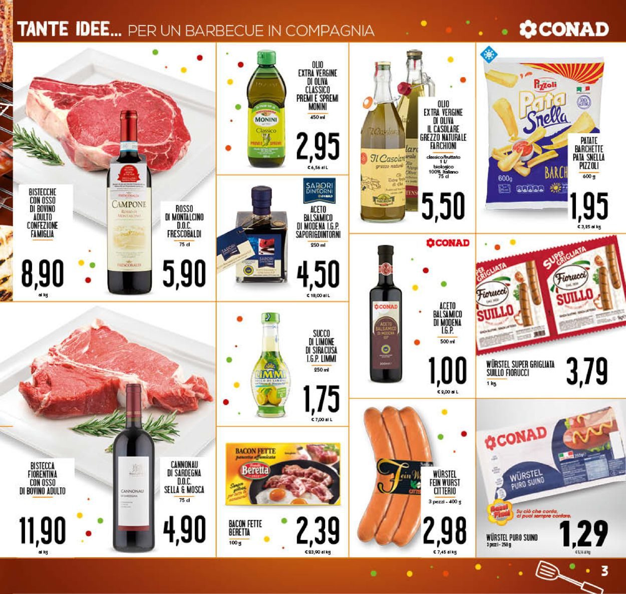 Volantino Conad - Offerte 05/08-16/08/2020 (Pagina 3)