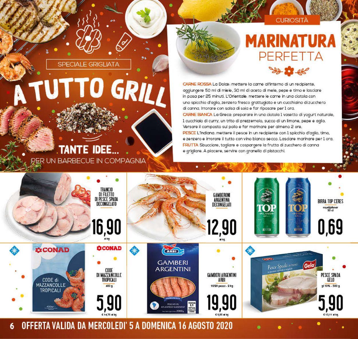 Volantino Conad - Offerte 05/08-16/08/2020 (Pagina 6)