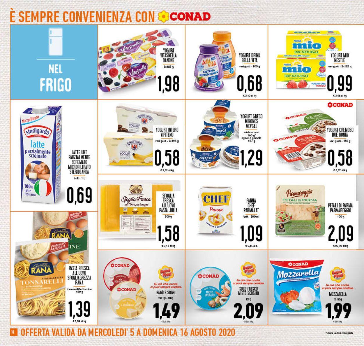 Volantino Conad - Offerte 05/08-16/08/2020 (Pagina 14)