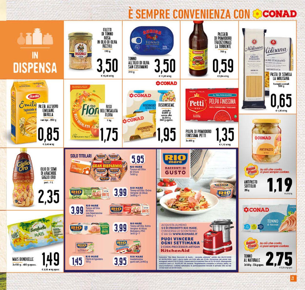 Volantino Conad - Offerte 05/08-16/08/2020 (Pagina 21)