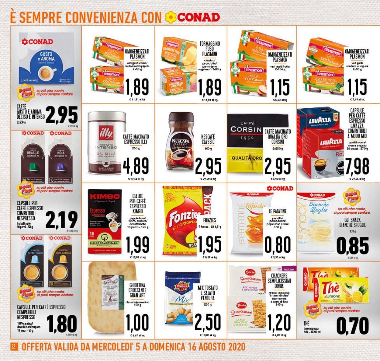 Volantino Conad - Offerte 05/08-16/08/2020 (Pagina 22)