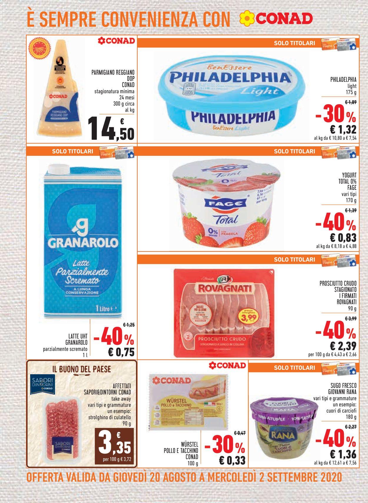 Volantino Conad - Offerte 20/08-02/09/2020 (Pagina 8)