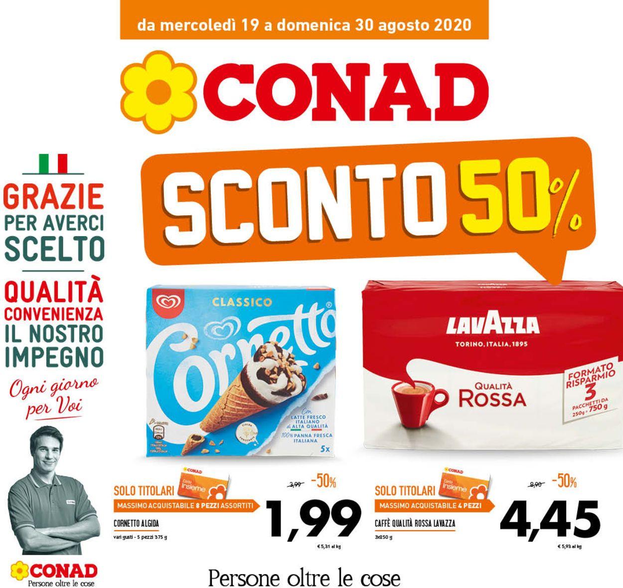 Volantino Conad - Offerte 19/08-30/08/2020