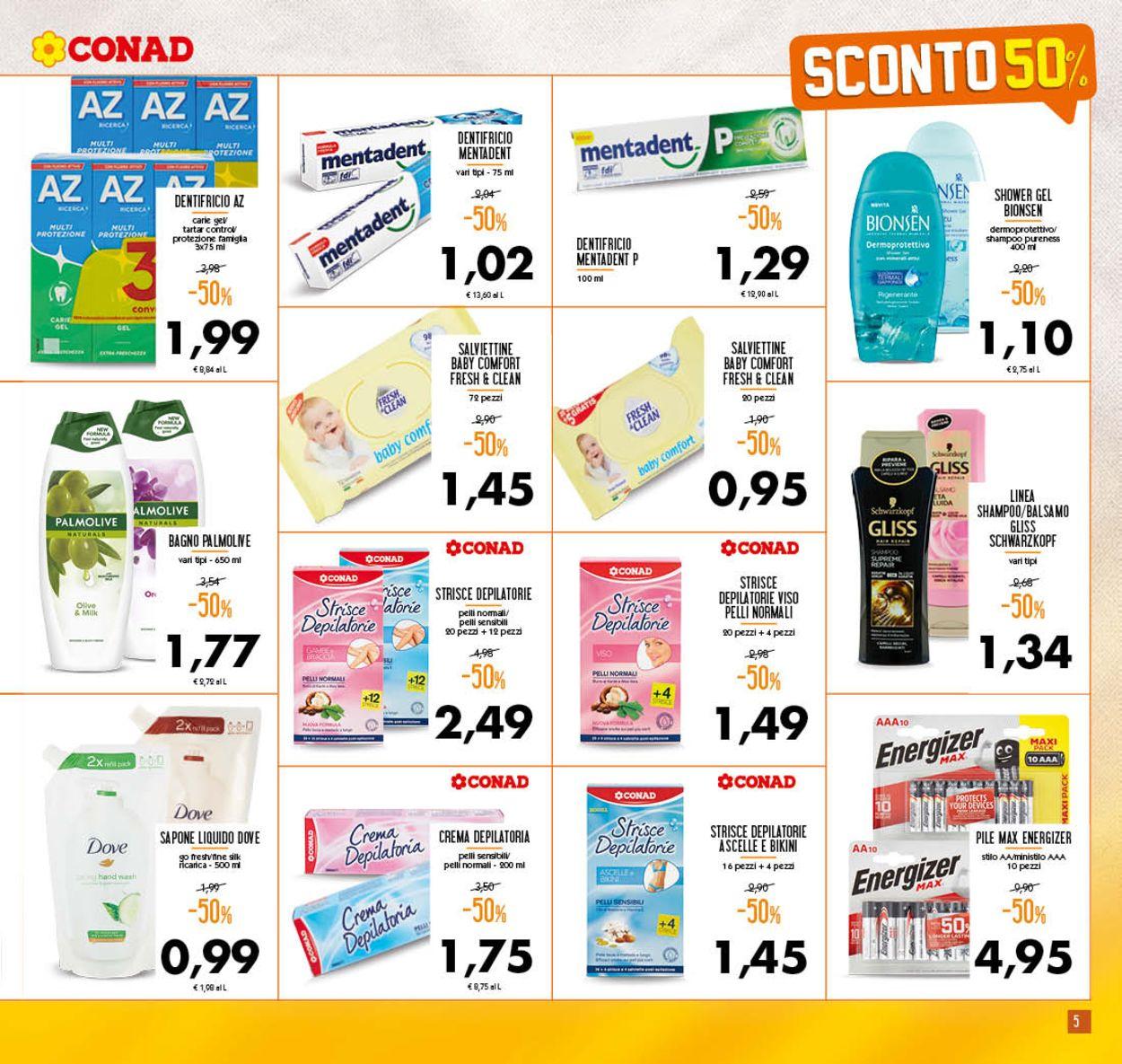 Volantino Conad - Offerte 19/08-30/08/2020 (Pagina 5)