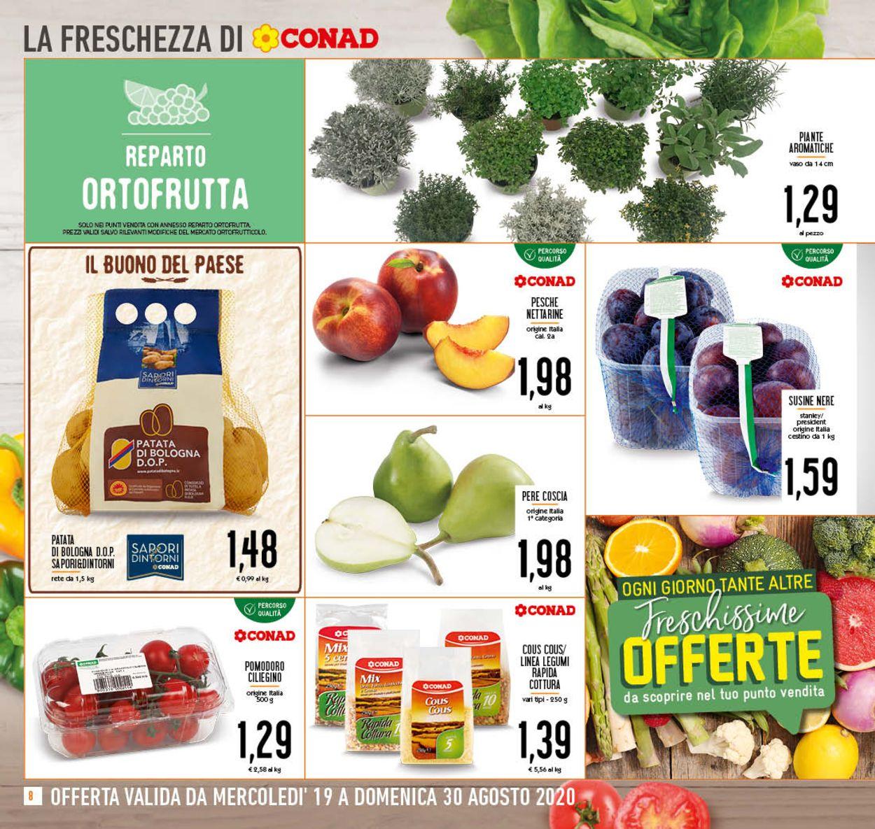 Volantino Conad - Offerte 19/08-30/08/2020 (Pagina 8)