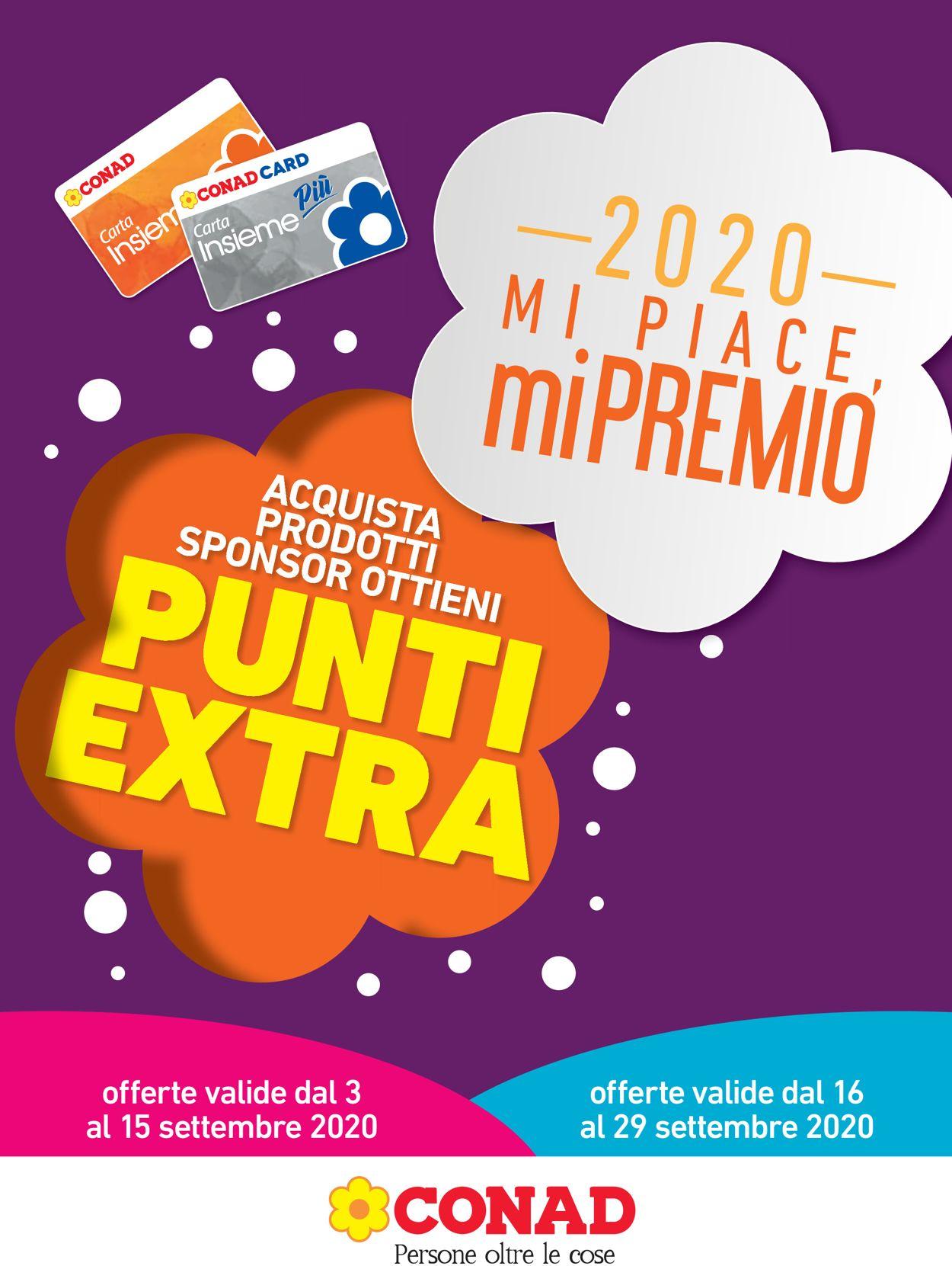Volantino Conad - Offerte 03/09-15/09/2020