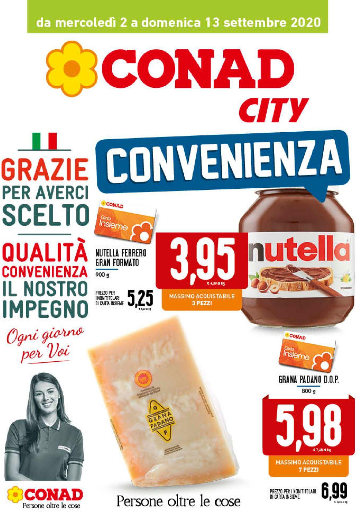 Volantino Conad - Offerte 02/09-13/09/2020