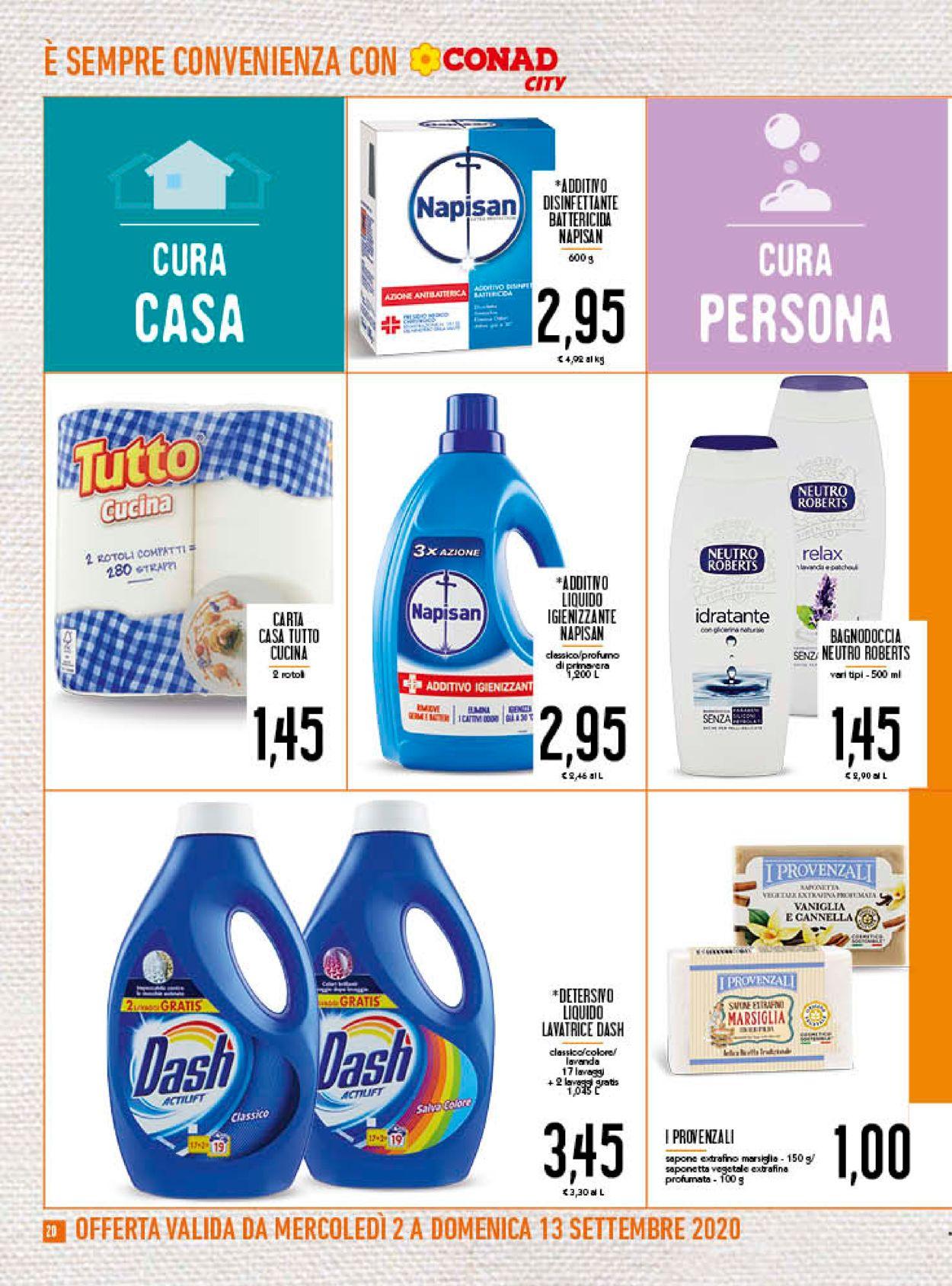 Volantino Conad - Offerte 02/09-13/09/2020 (Pagina 20)