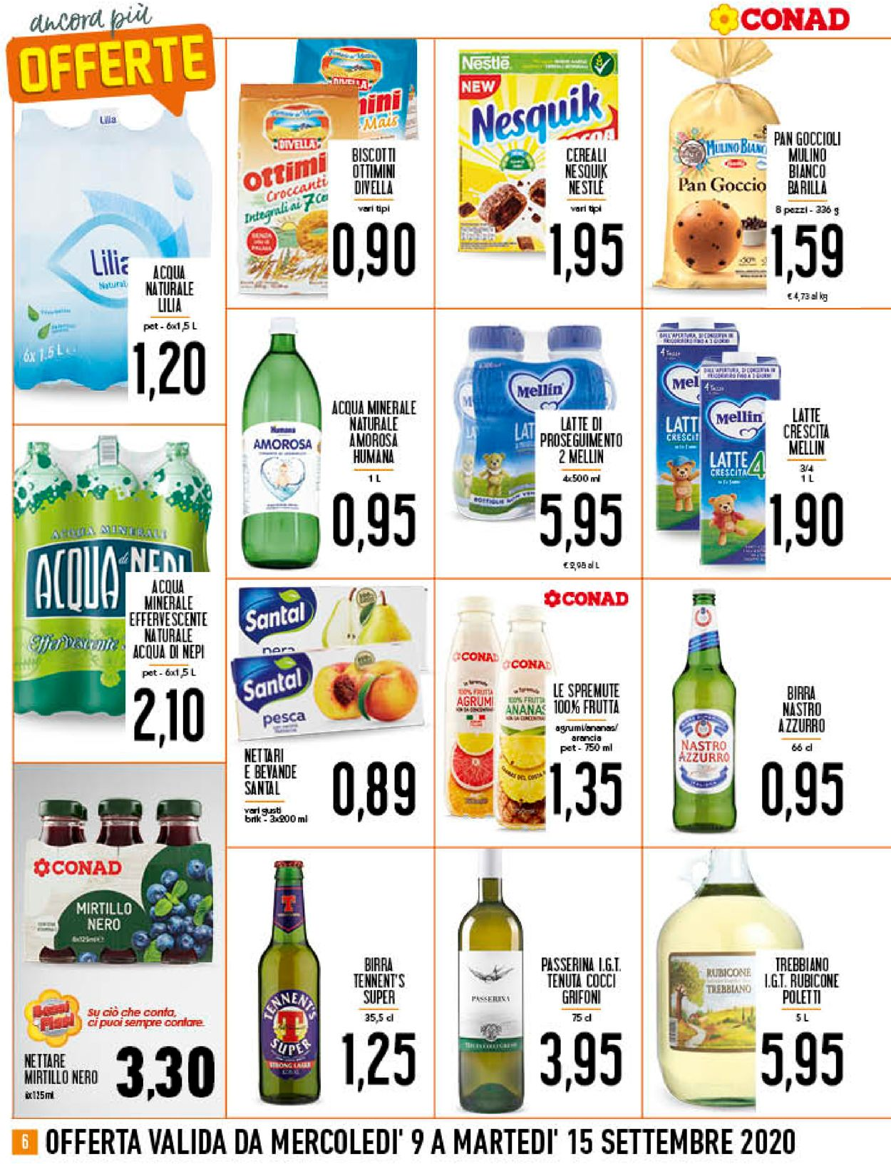 Volantino Conad - Offerte 09/09-15/09/2020 (Pagina 6)