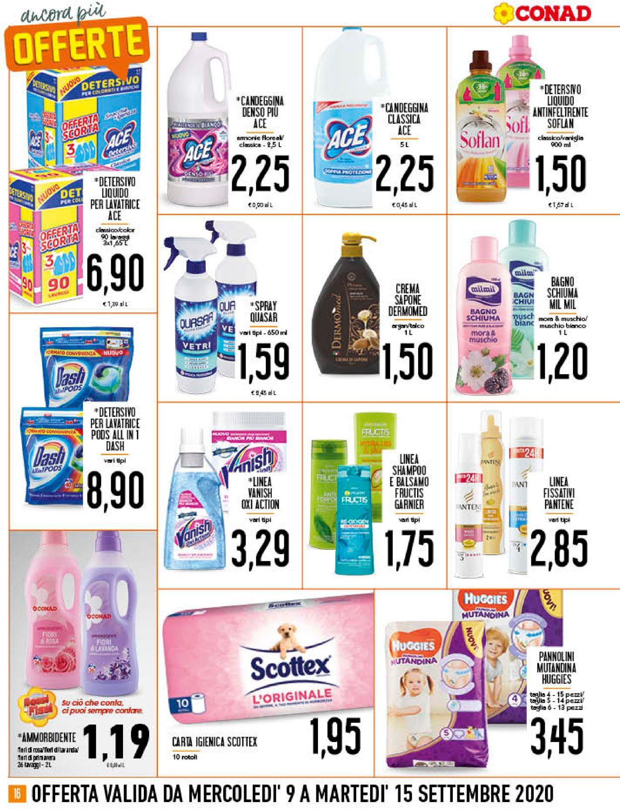 Volantino Conad - Offerte 09/09-15/09/2020 (Pagina 16)