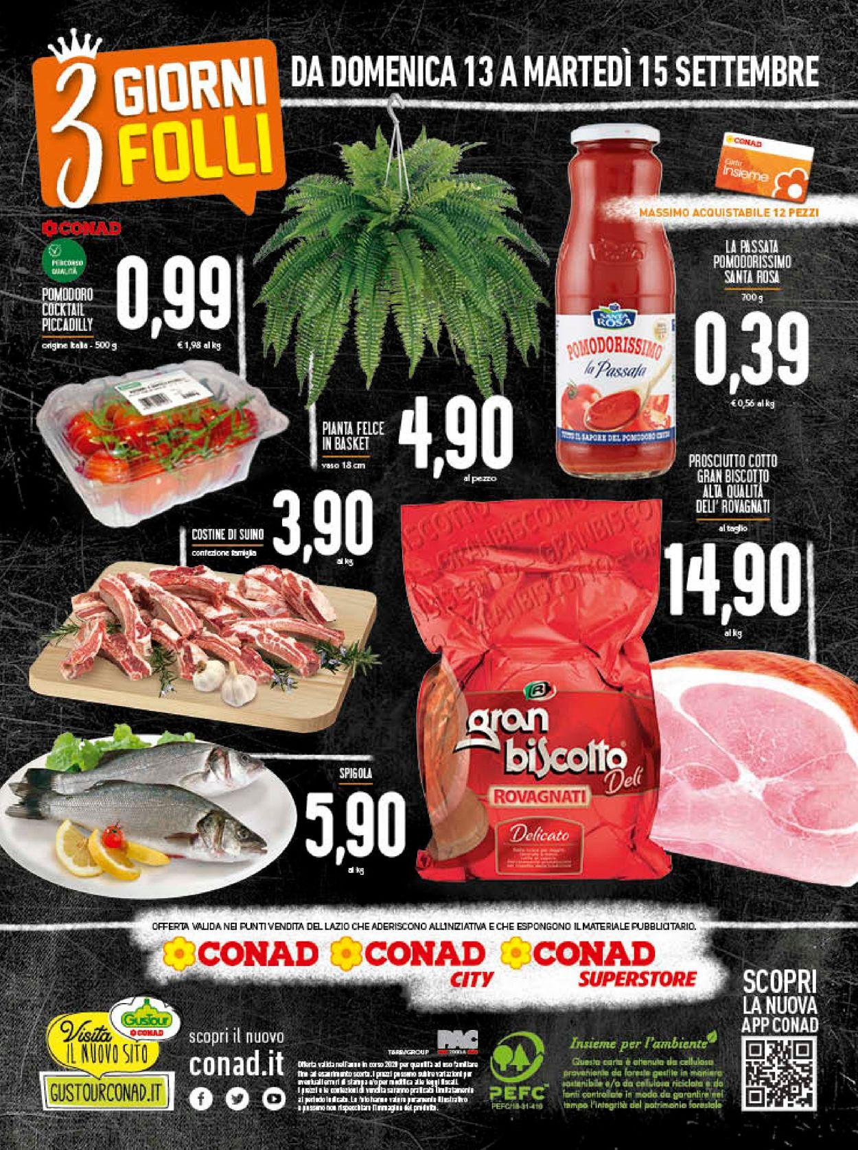 Volantino Conad - Offerte 09/09-15/09/2020 (Pagina 20)