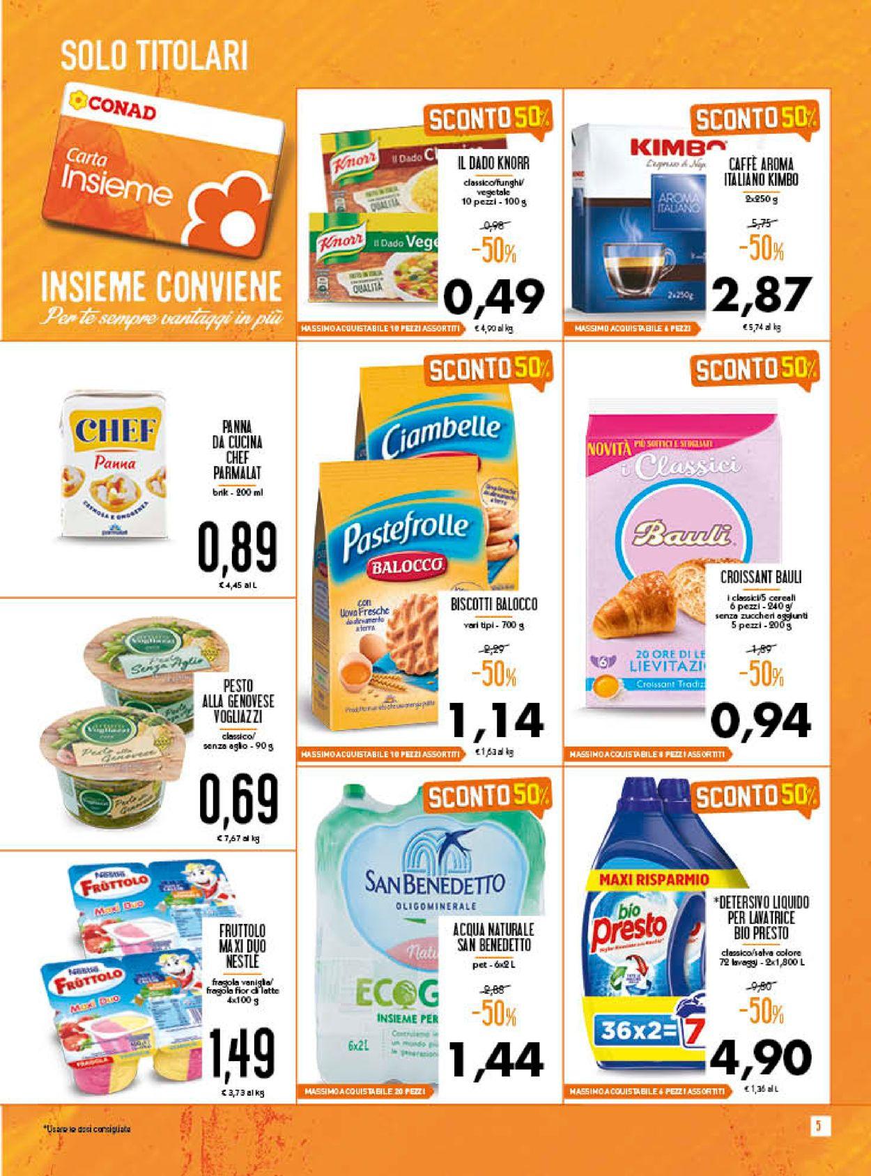 Volantino Conad - Offerte 16/09-27/09/2020 (Pagina 5)