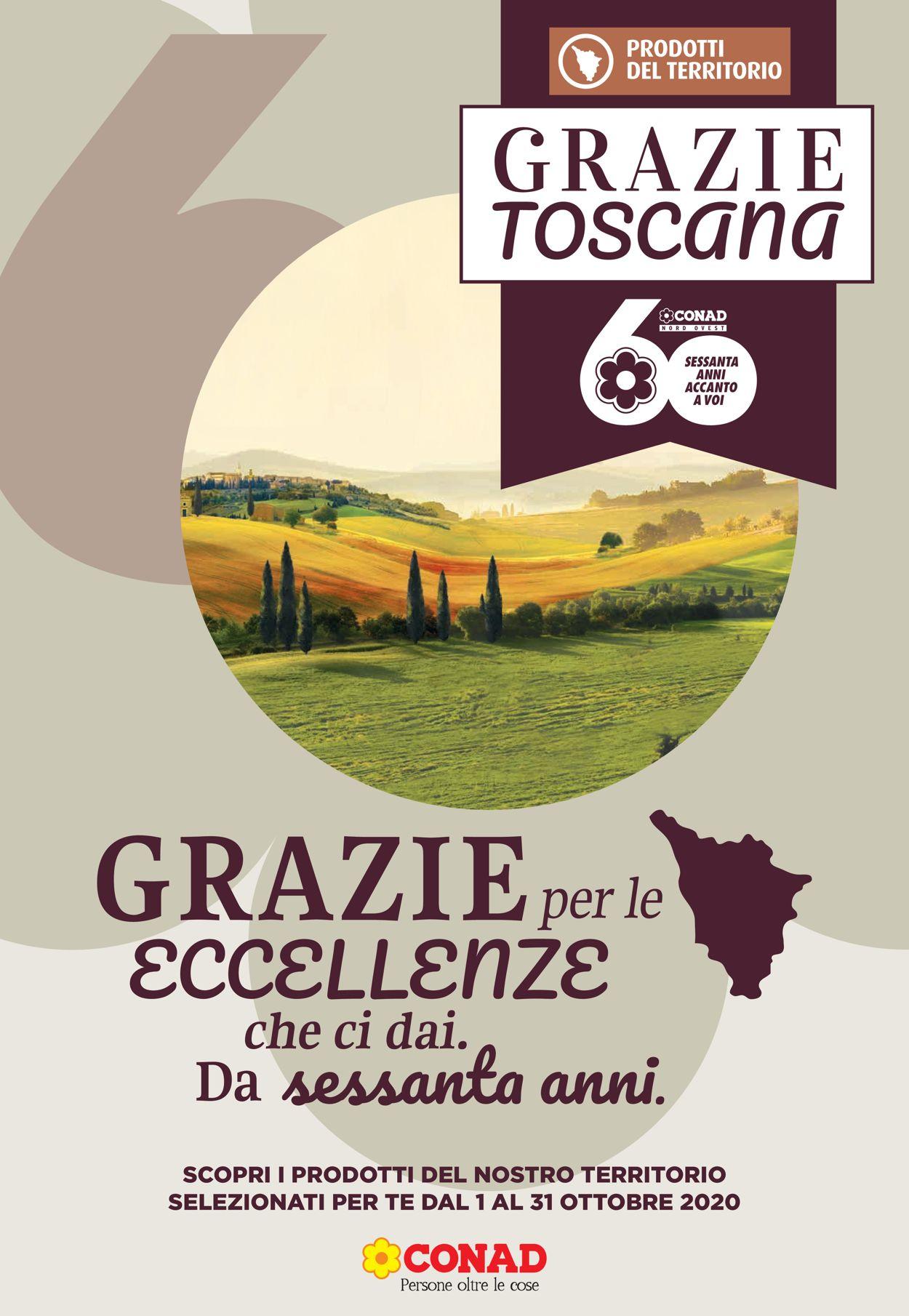 Volantino Conad - Offerte 01/10-31/10/2020