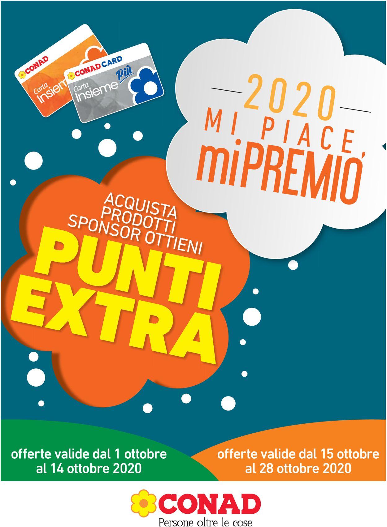 Volantino Conad - Offerte 01/10-14/10/2020