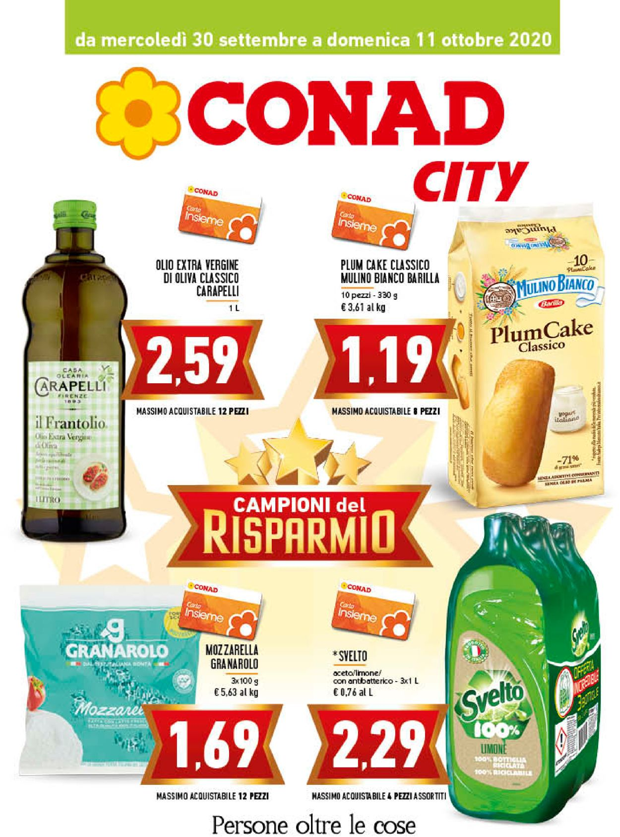 Volantino Conad - Offerte 30/09-11/10/2020