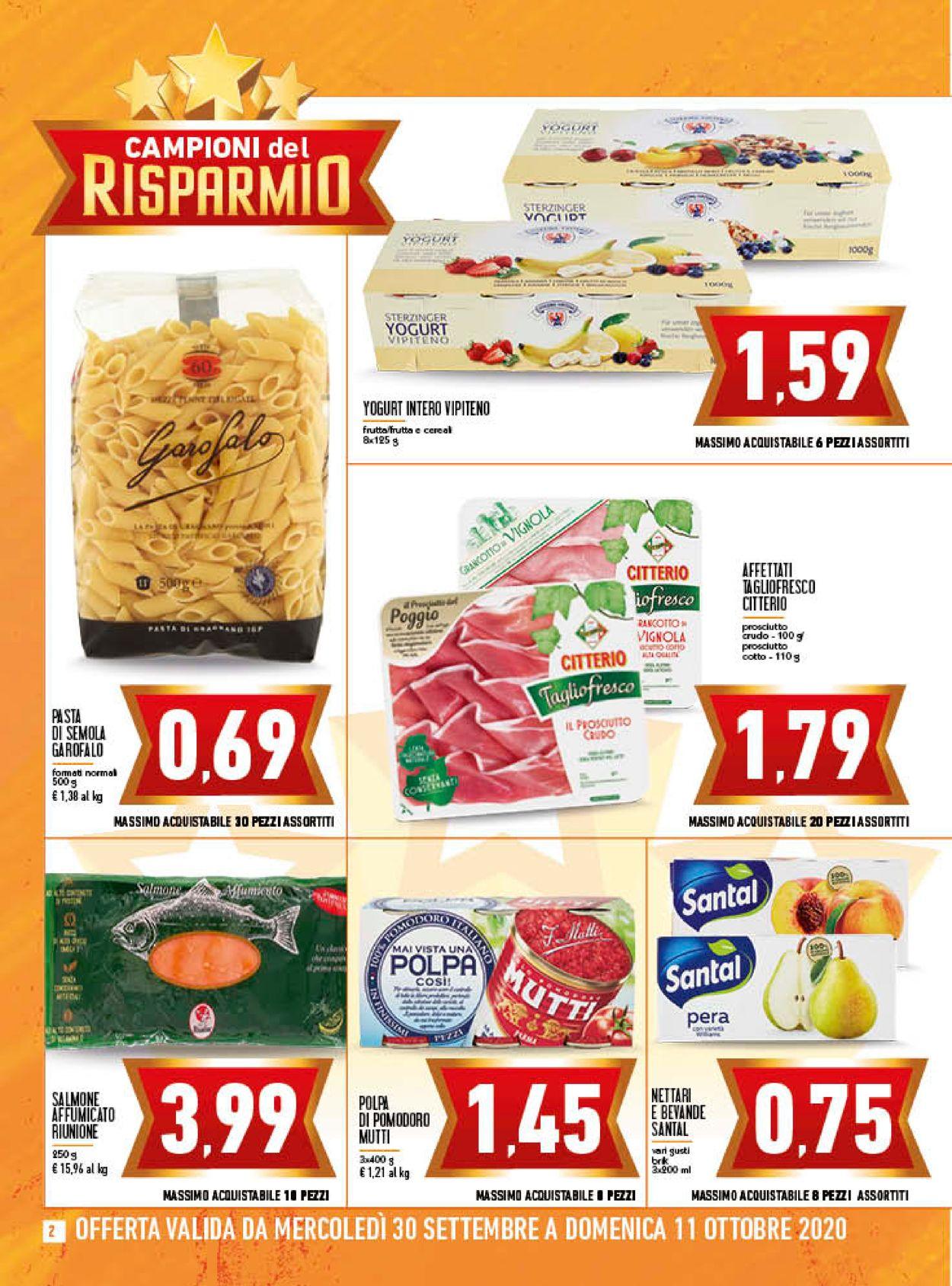 Volantino Conad - Offerte 30/09-11/10/2020 (Pagina 2)