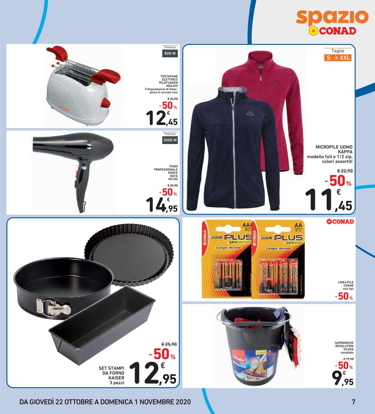 Volantino Conad - Offerte 22/10-01/11/2020 (Pagina 7)