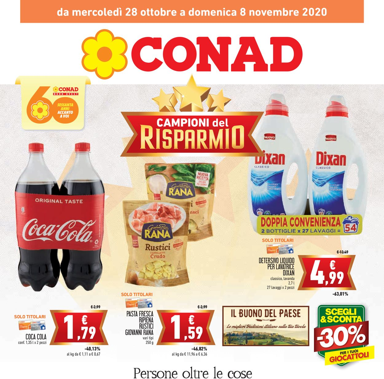 Volantino Conad - Offerte 28/10-08/11/2020