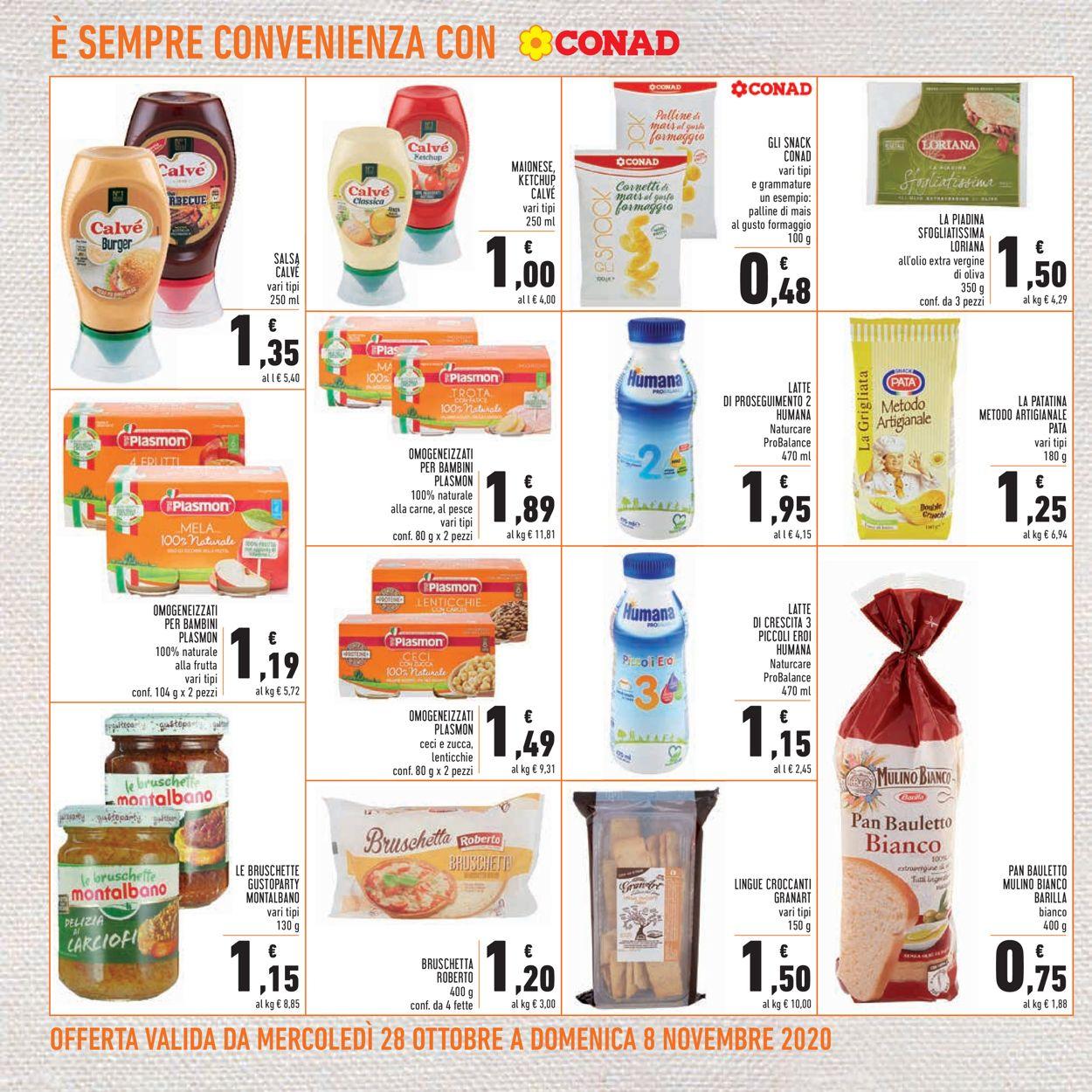 Volantino Conad - Offerte 28/10-08/11/2020 (Pagina 18)