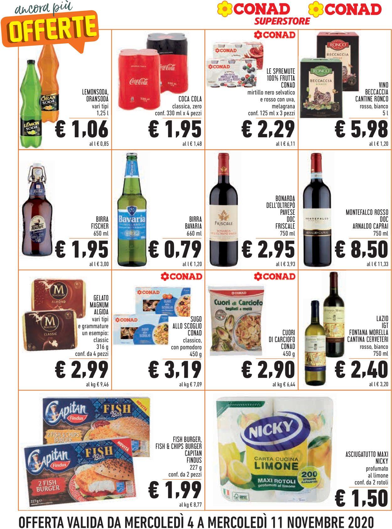 Volantino Conad - Offerte 04/11-11/11/2020 (Pagina 6)