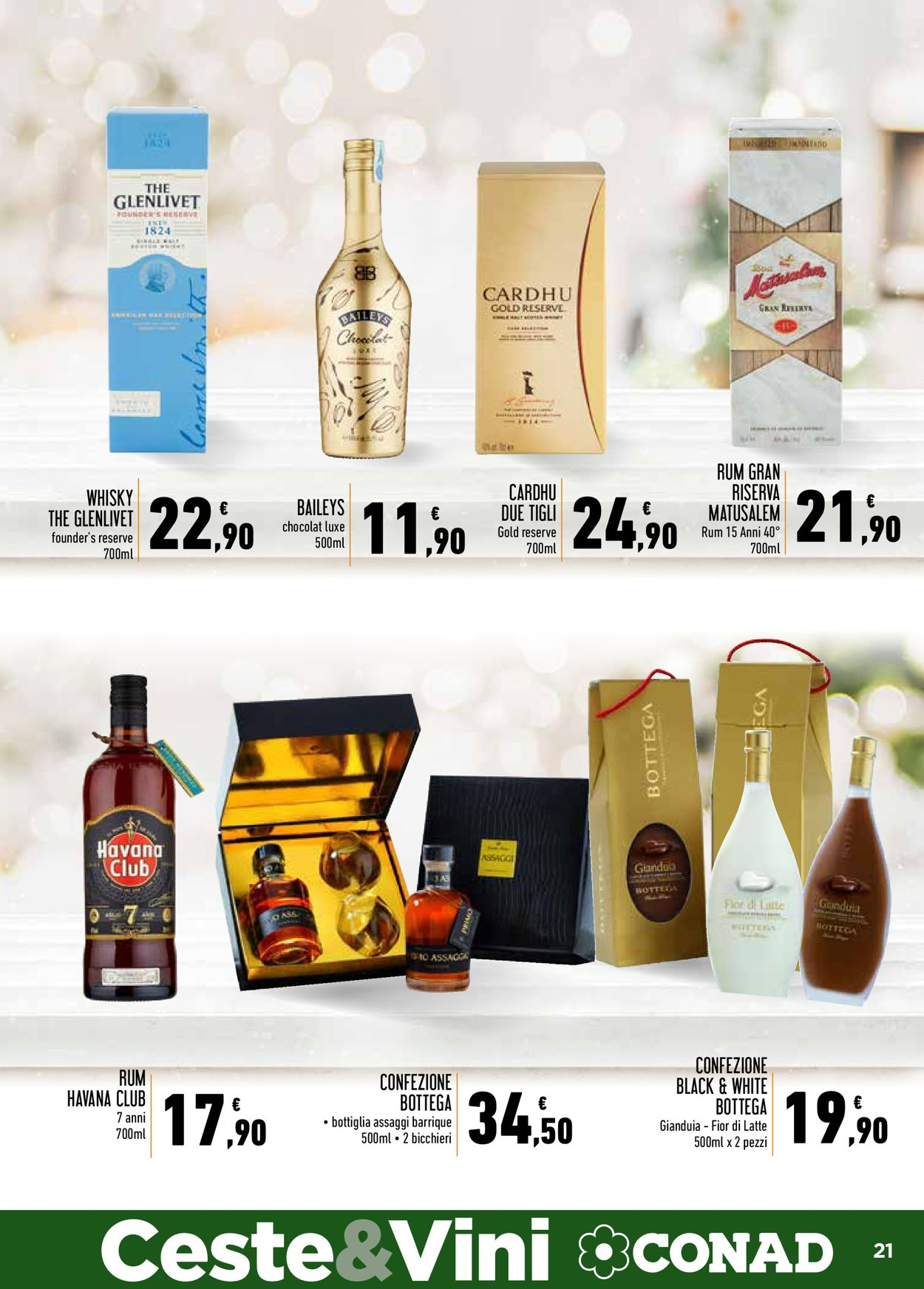 Volantino Conad - Natale 2020 - Offerte 12/11-24/12/2020 (Pagina 21)