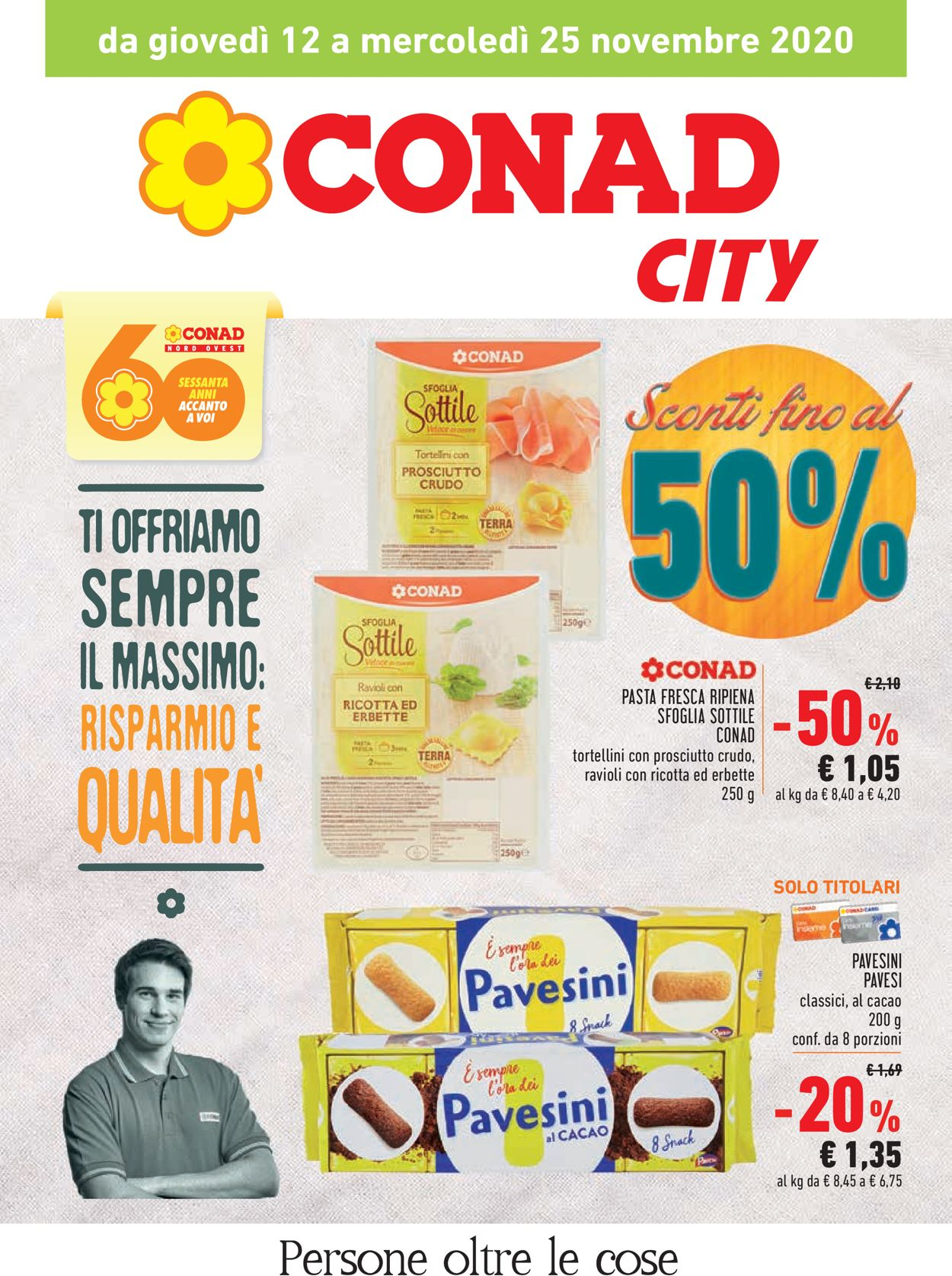 Volantino Conad - Offerte 12/11-25/11/2020