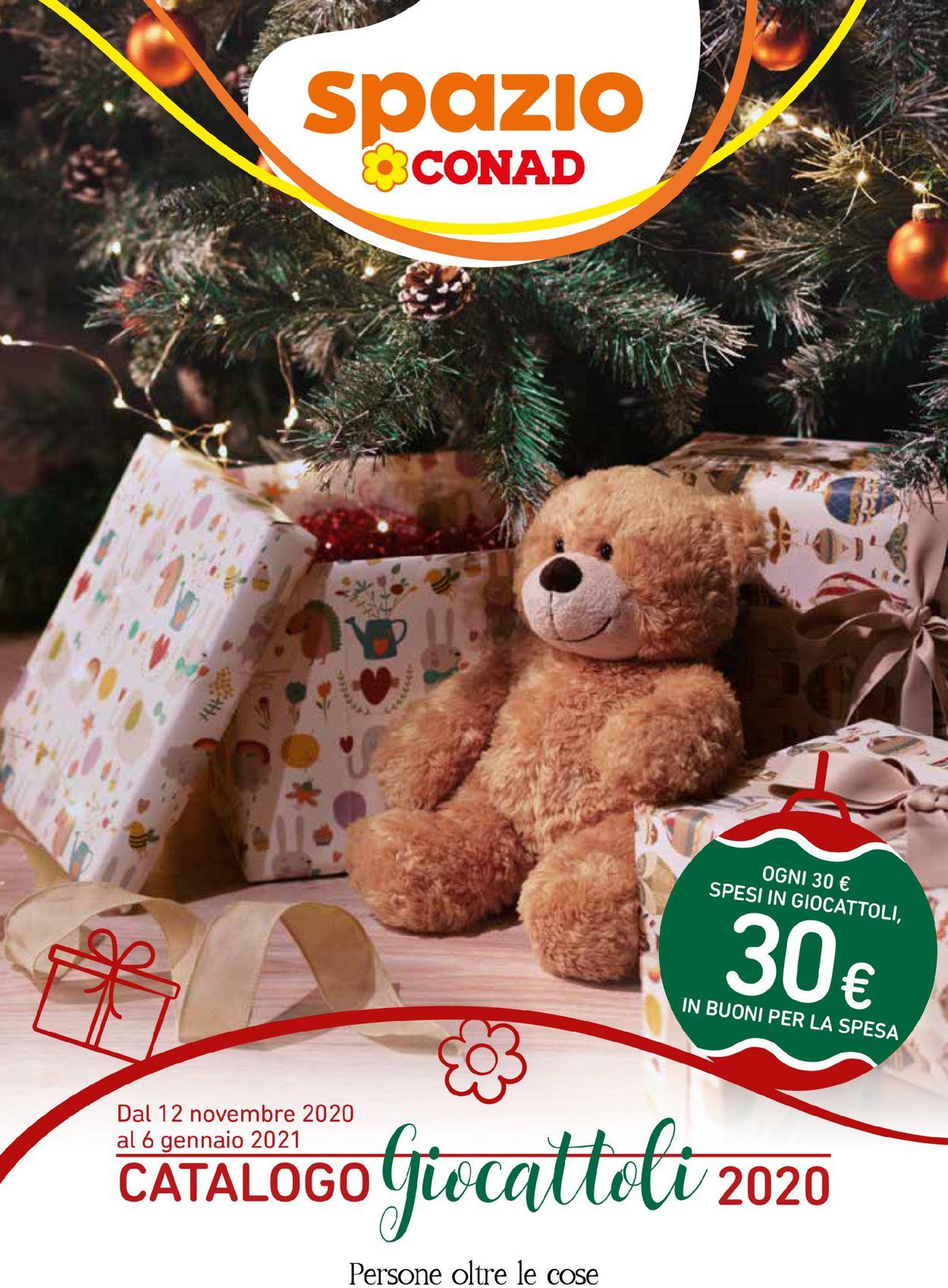 Volantino Conad - Natale 2020 - Offerte 12/11-06/01/2021