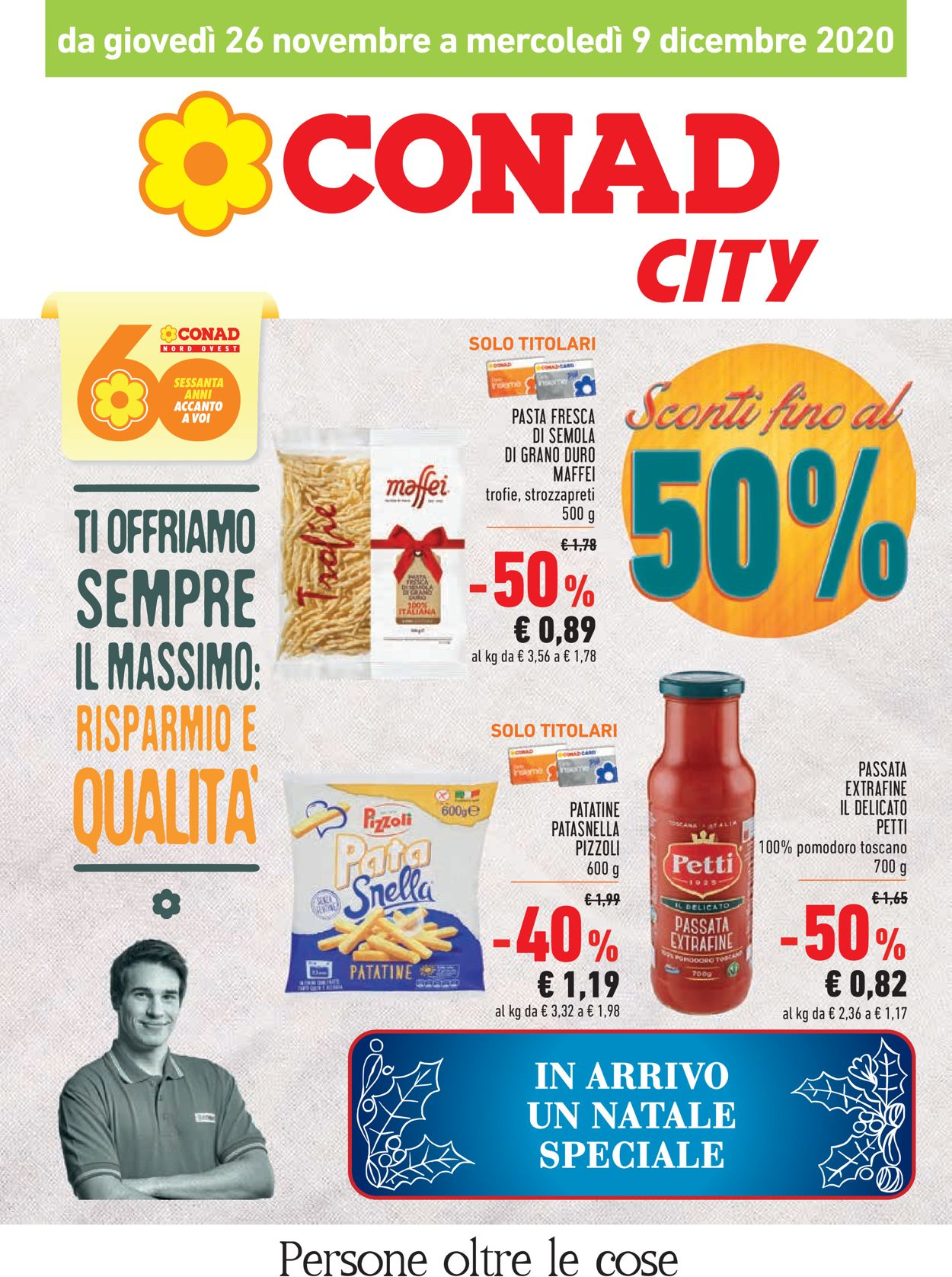 Volantino Conad - Black Friday 2020 - Offerte 26/11-09/12/2020