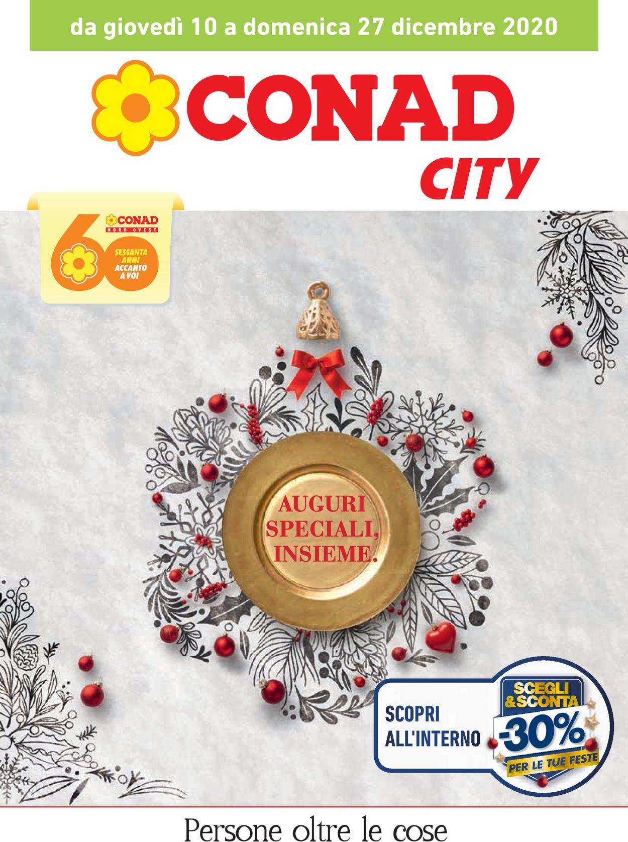 Volantino Conad - Natale 2020 - Offerte 10/12-27/12/2020