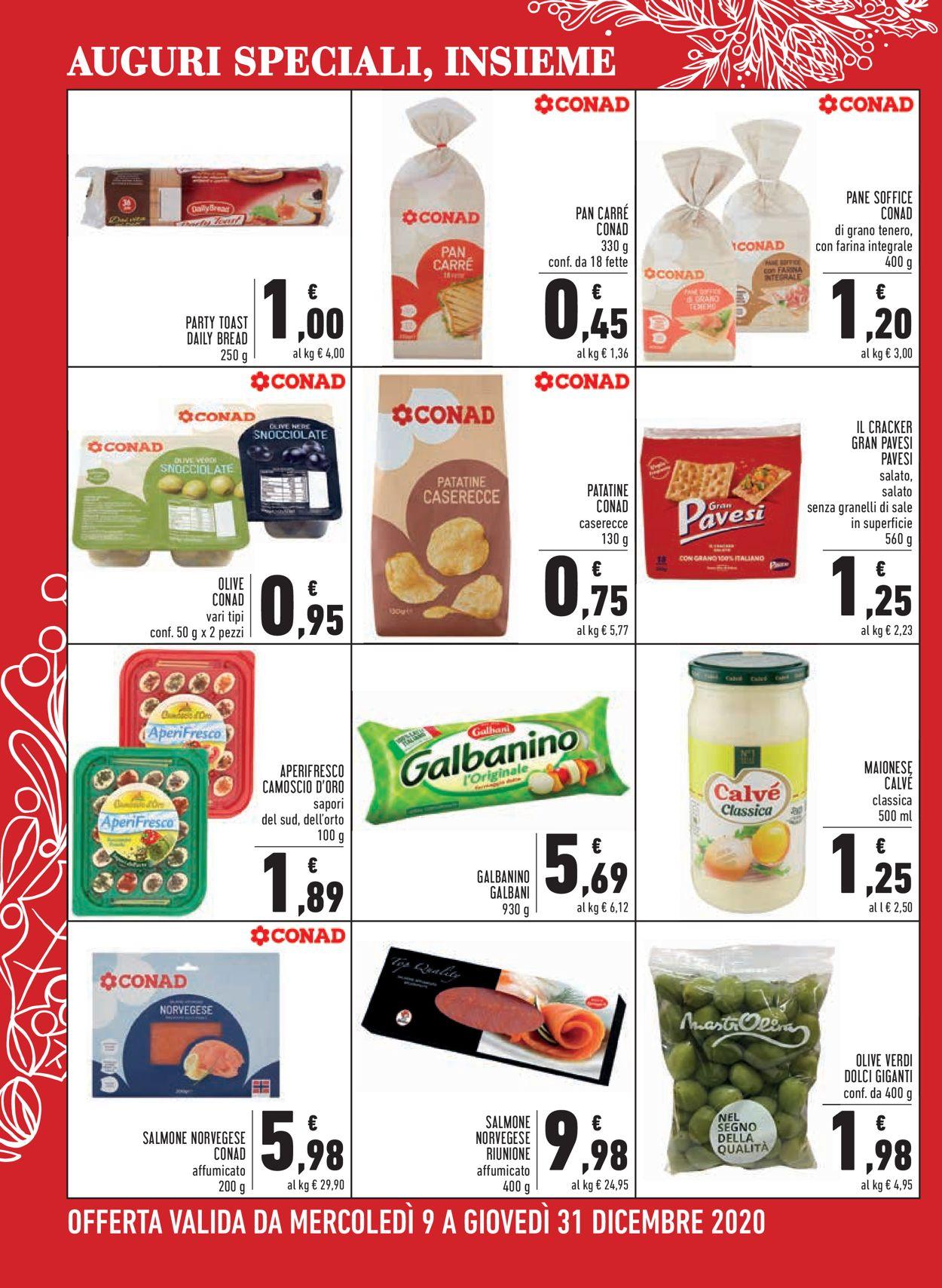 Volantino Conad - Natale 2020 - Offerte 09/12-31/12/2020 (Pagina 6)