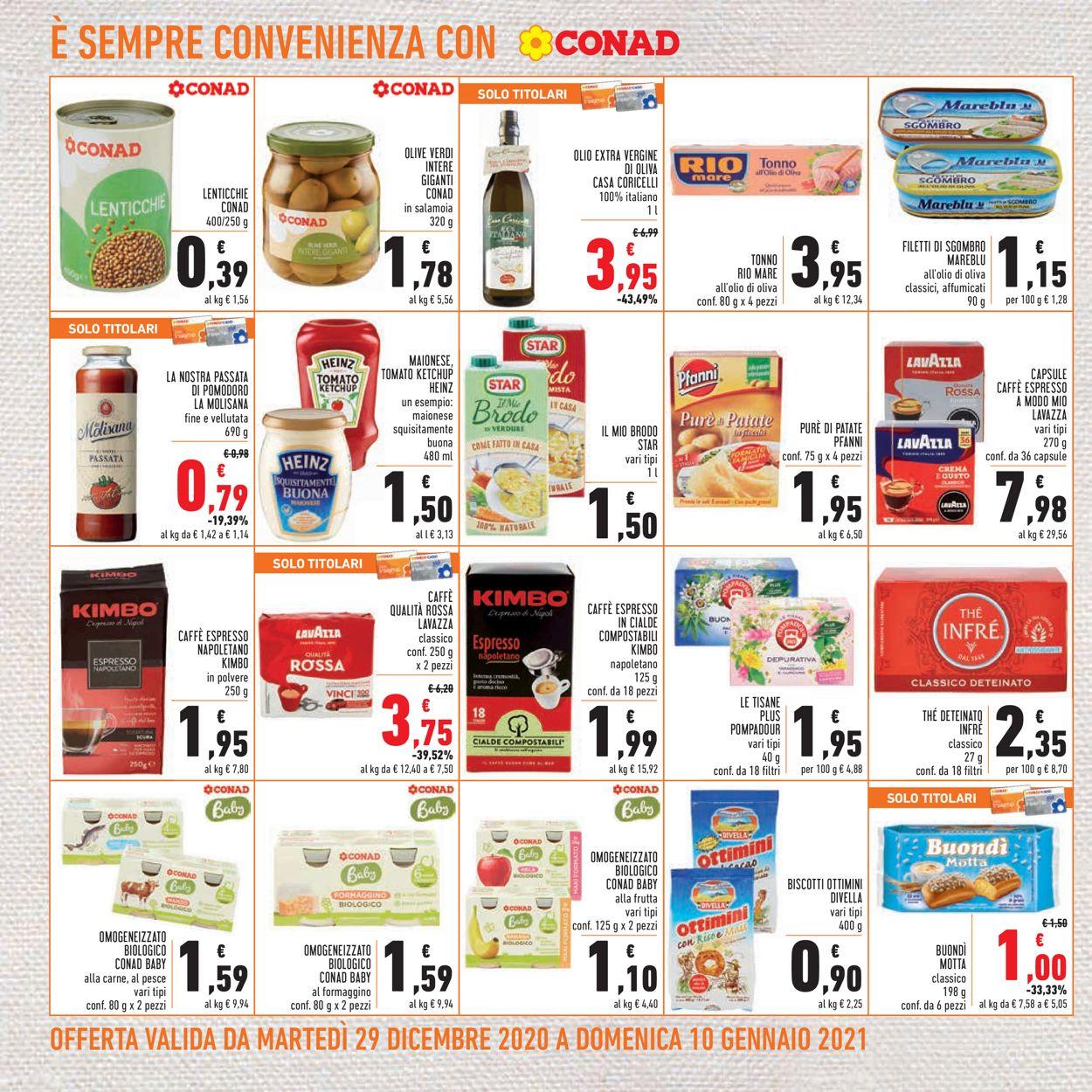 Volantino Conad - Offerte 29/12-10/01/2021 (Pagina 12)