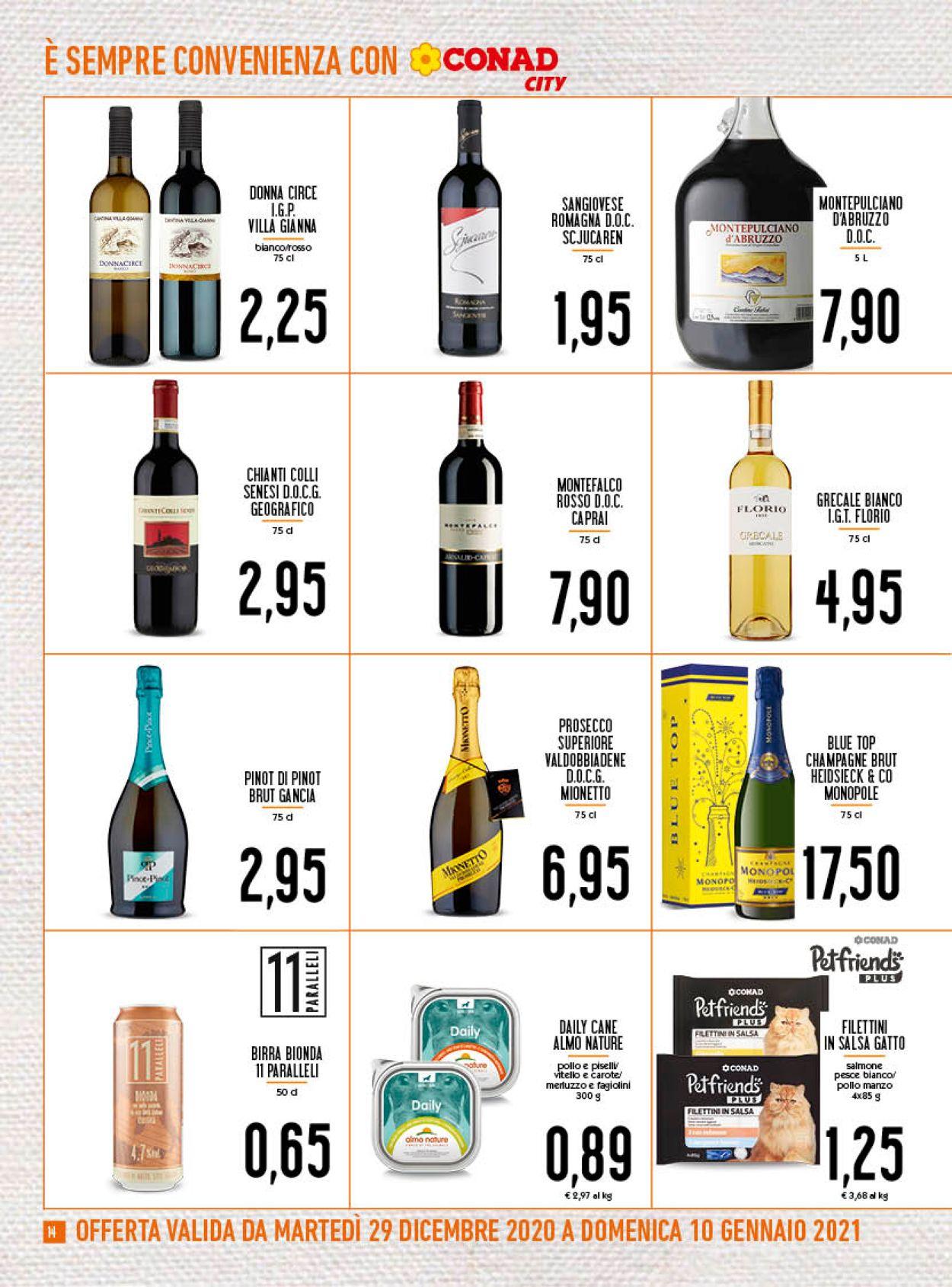 Volantino Conad - Offerte 29/12-10/01/2021 (Pagina 14)