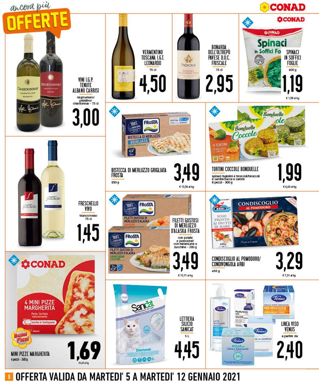 Volantino Conad - Offerte 05/01-12/01/2021 (Pagina 8)